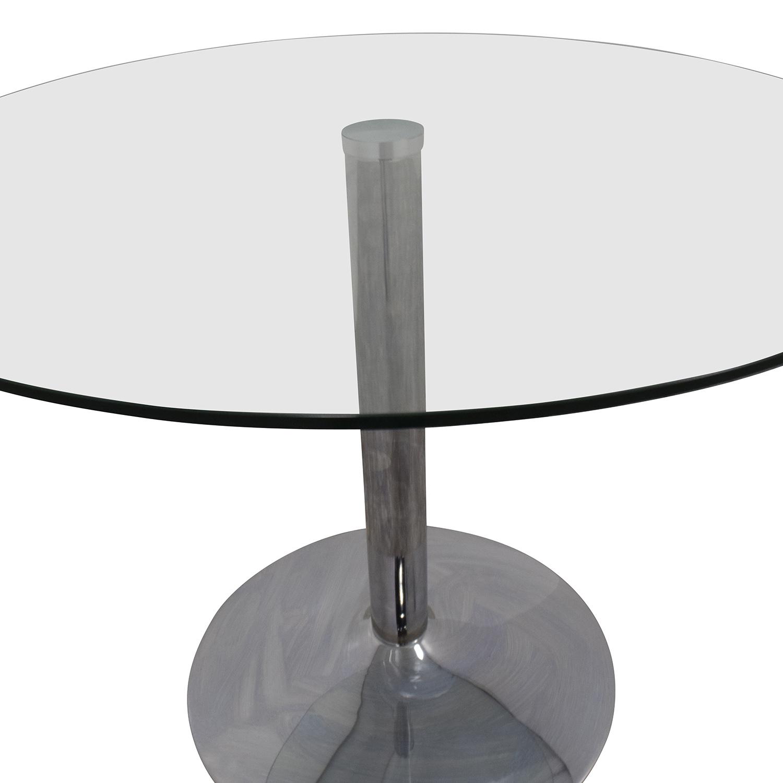 Dot & Bo Dot & Bo Lucent Round Cafe Table coupon