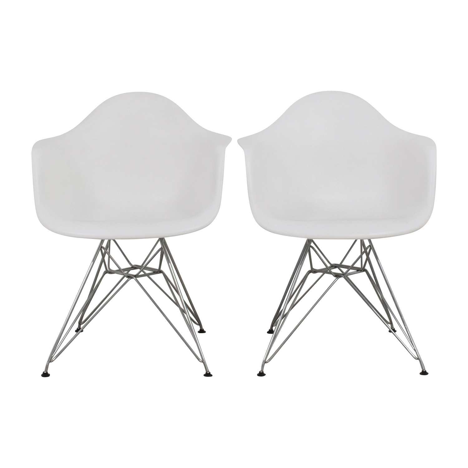 Dot And Bo White Dining Chairs For
