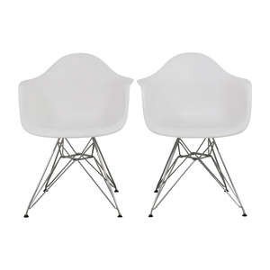 Dot and Bo Dot & Bo White Dining Chairs nyc