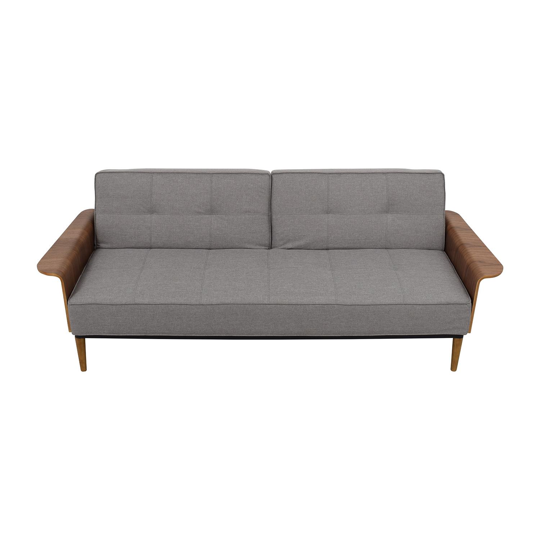 InMod InMod Bjorg Tufted Light Grey Sofabed price
