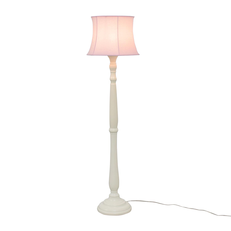 Pottery Barn Pottery Barn Payton Floor Base Lamp with Pink Shade coupon