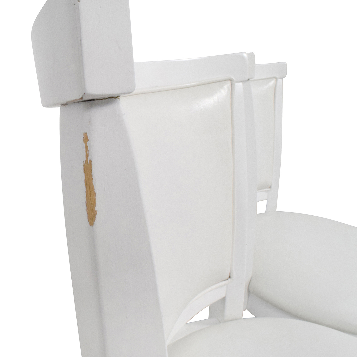 90 Off Corliving Corliving White Leatherette Swivel