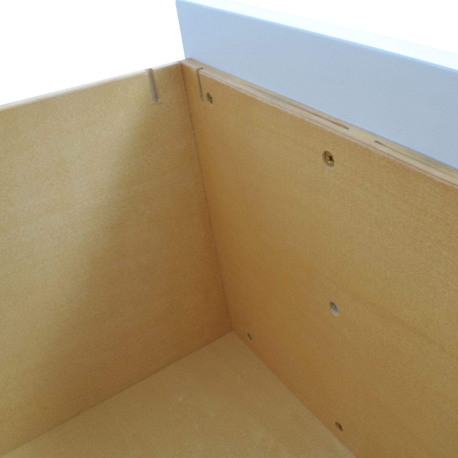 Pottery Barn Pottery Barn Off-White Four-Drawer Desk on sale