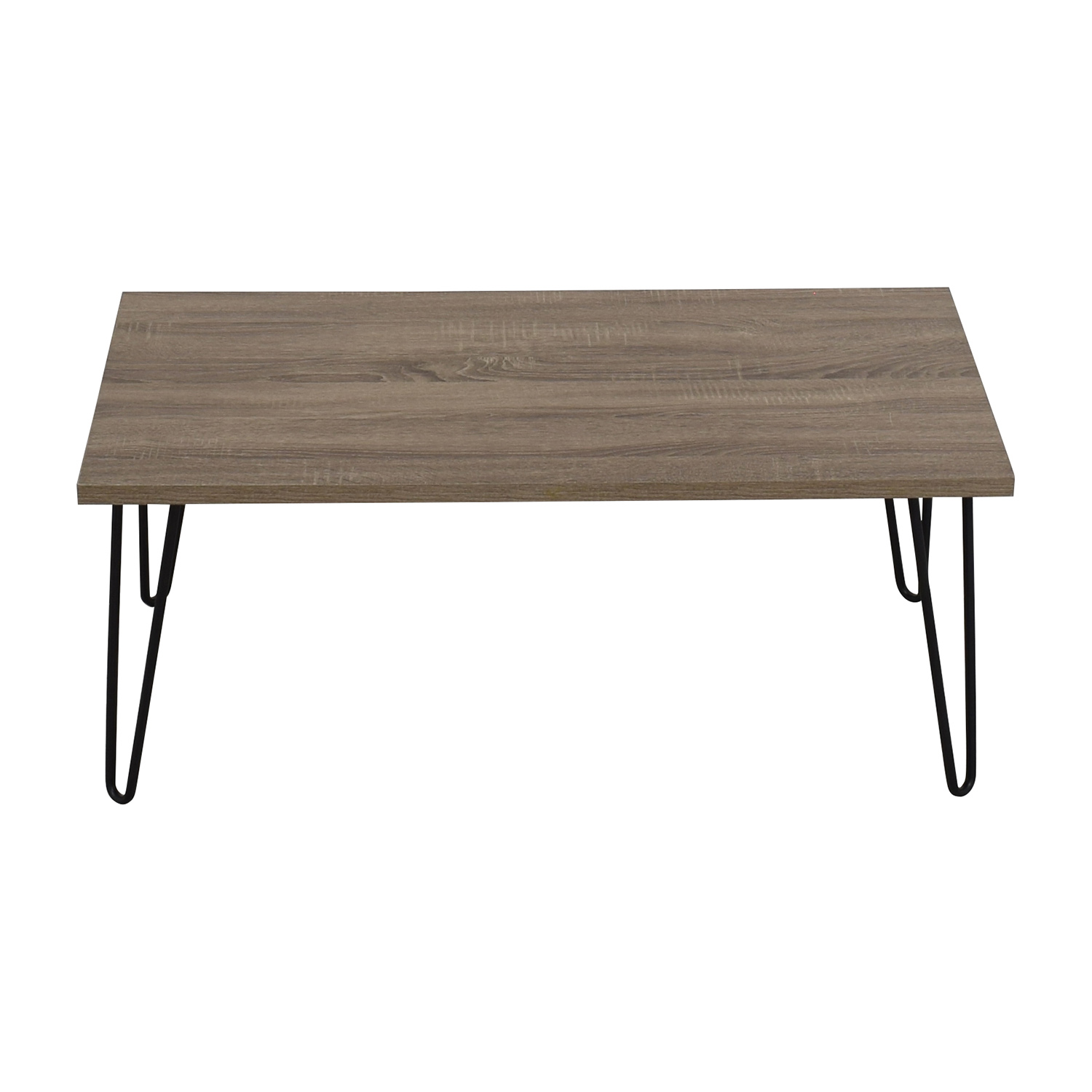 49% OFF Javanese Mahogany and Glass Coffee Table Tables