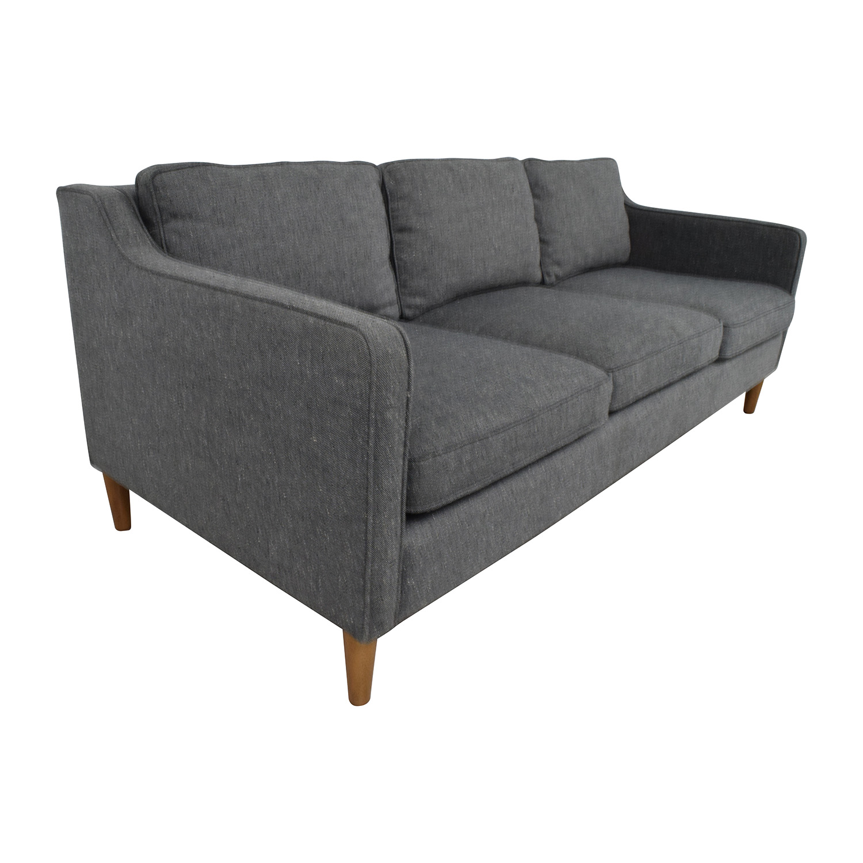 buy West Elm Hamilton Sofa in Tweed West Elm Sofas