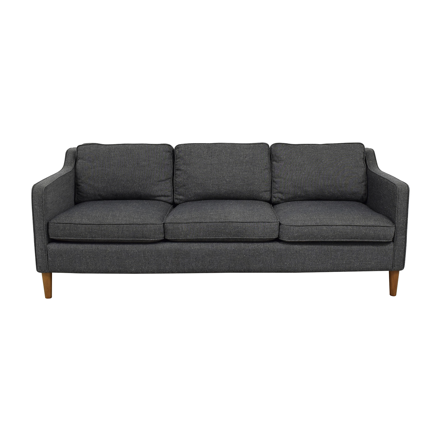 48 off west elm west elm hamilton sofa in tweed sofas for Best west elm sofa
