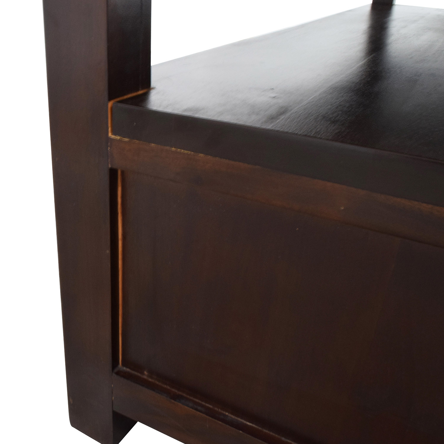 Daria Daria Brown Wood Coffee Table with Three Drawers discount