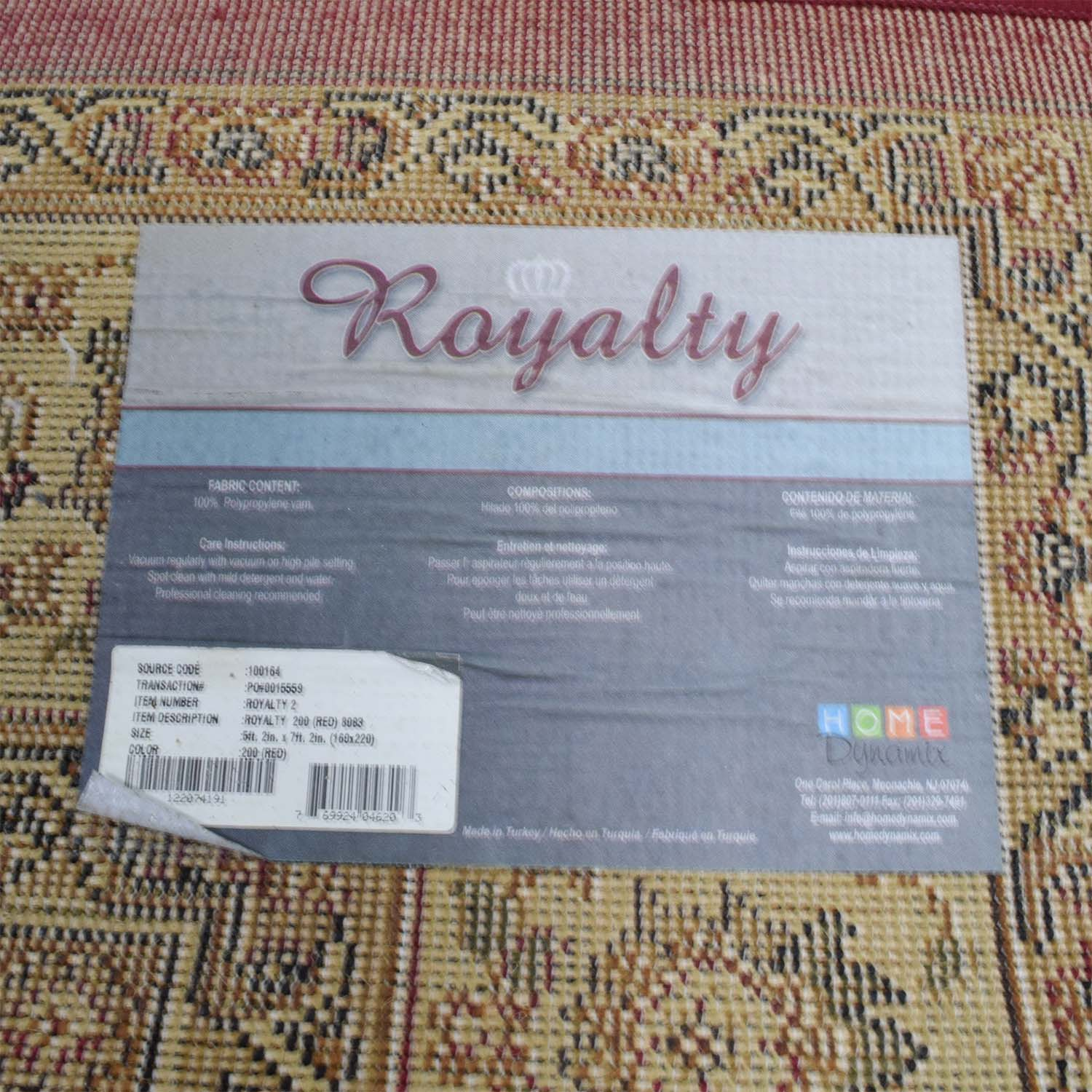 shop Home Dynamix Royalty Red Persian Rug Home Dynamix Rugs
