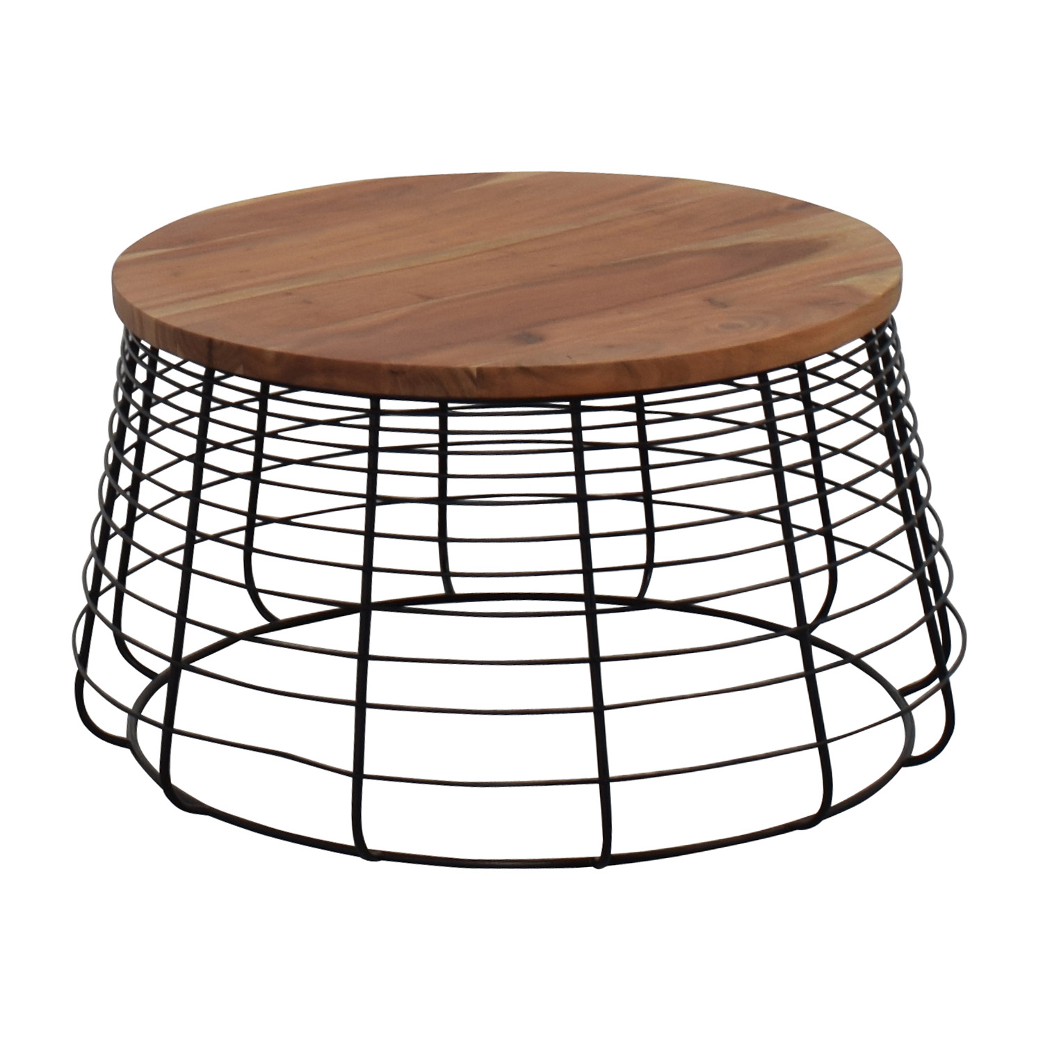 CB2 CB2 Round Wire Coffee Table On Sale