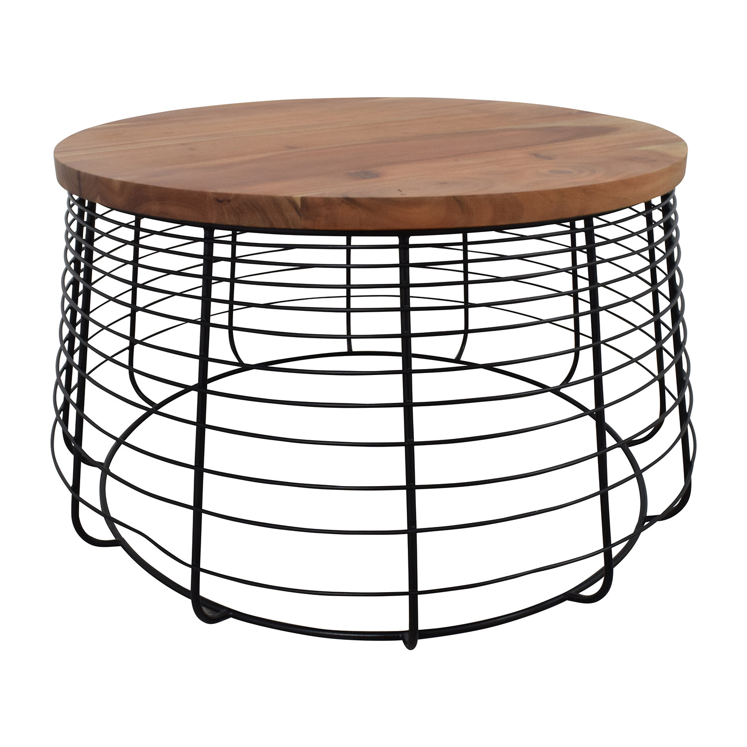 shop CB2 CB2 Round Wire Coffee Table online