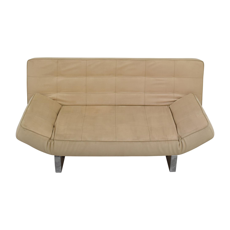 63 OFF BoConcept BoConcept Zen Beige Sleeper Sofa Sofas