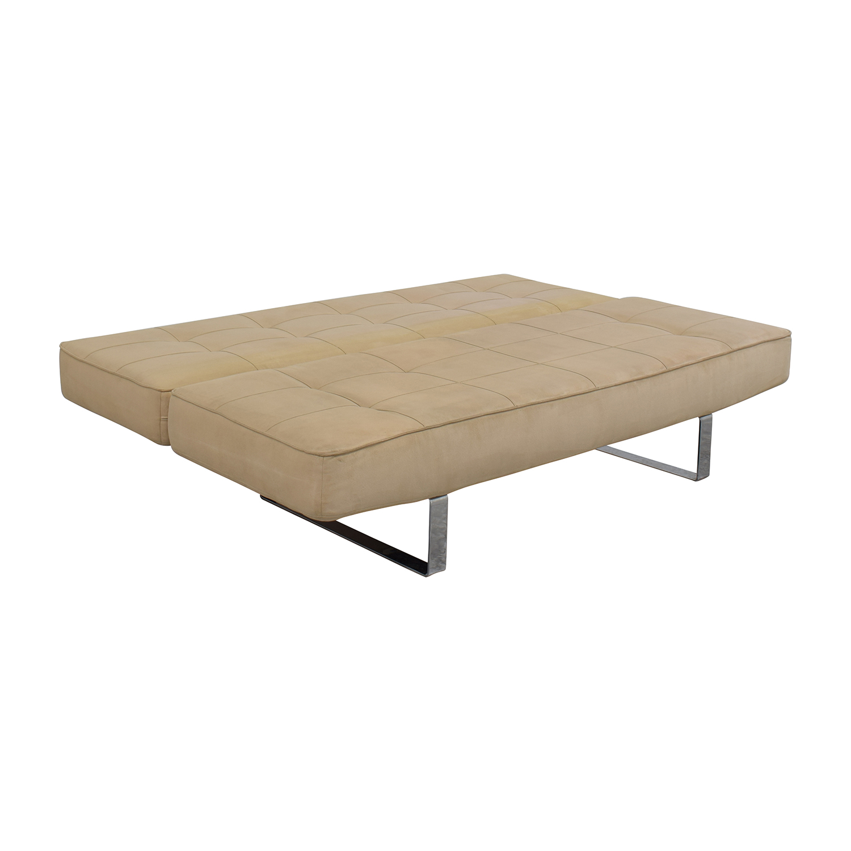 Beige Sleeper Sofa: BoConcept BoConcept Zen Beige Sleeper Sofa / Sofas