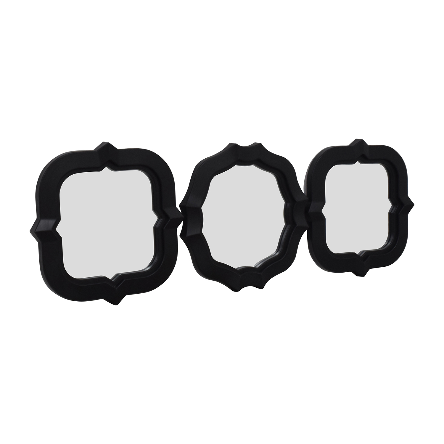 Small Decorative Black Mirrors on sale