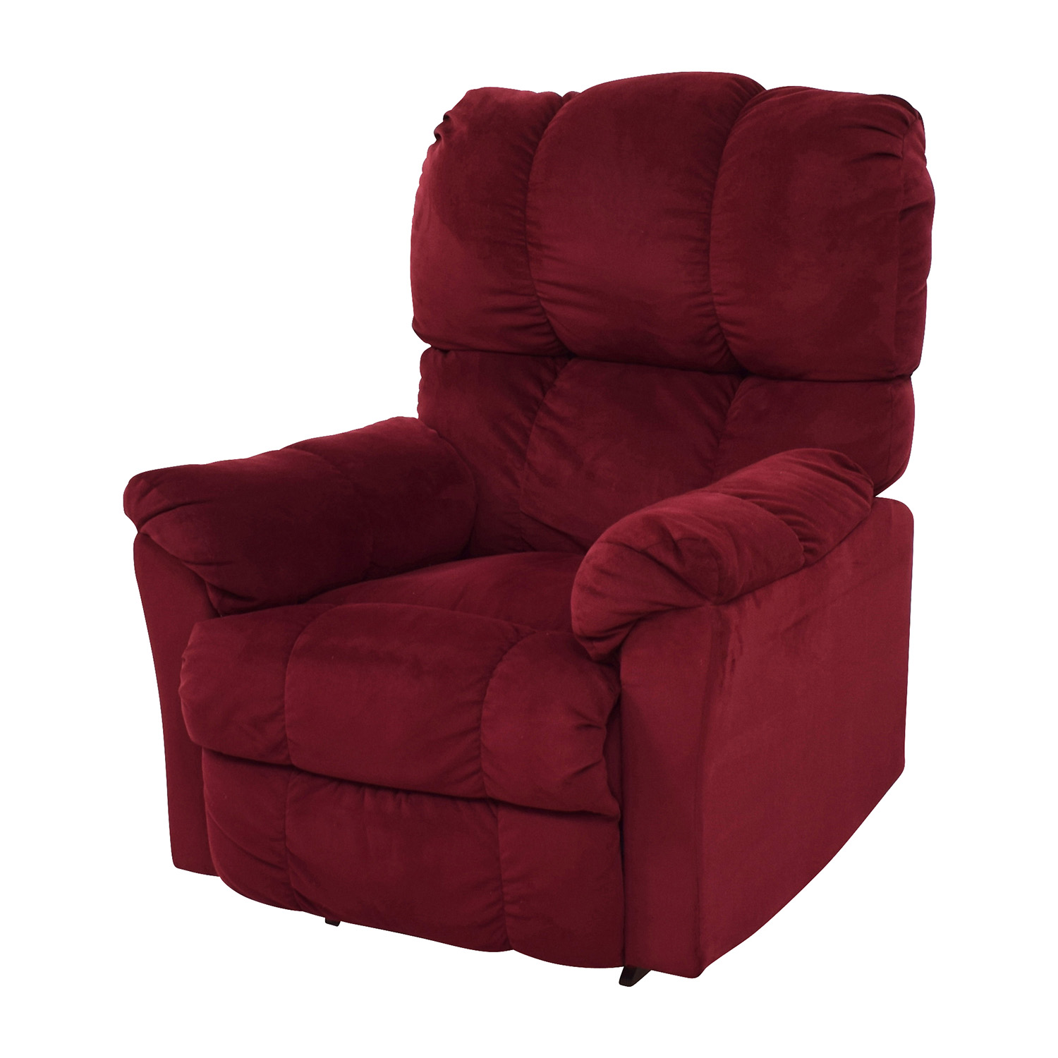 Macys Red Recliner Arm Chair sale