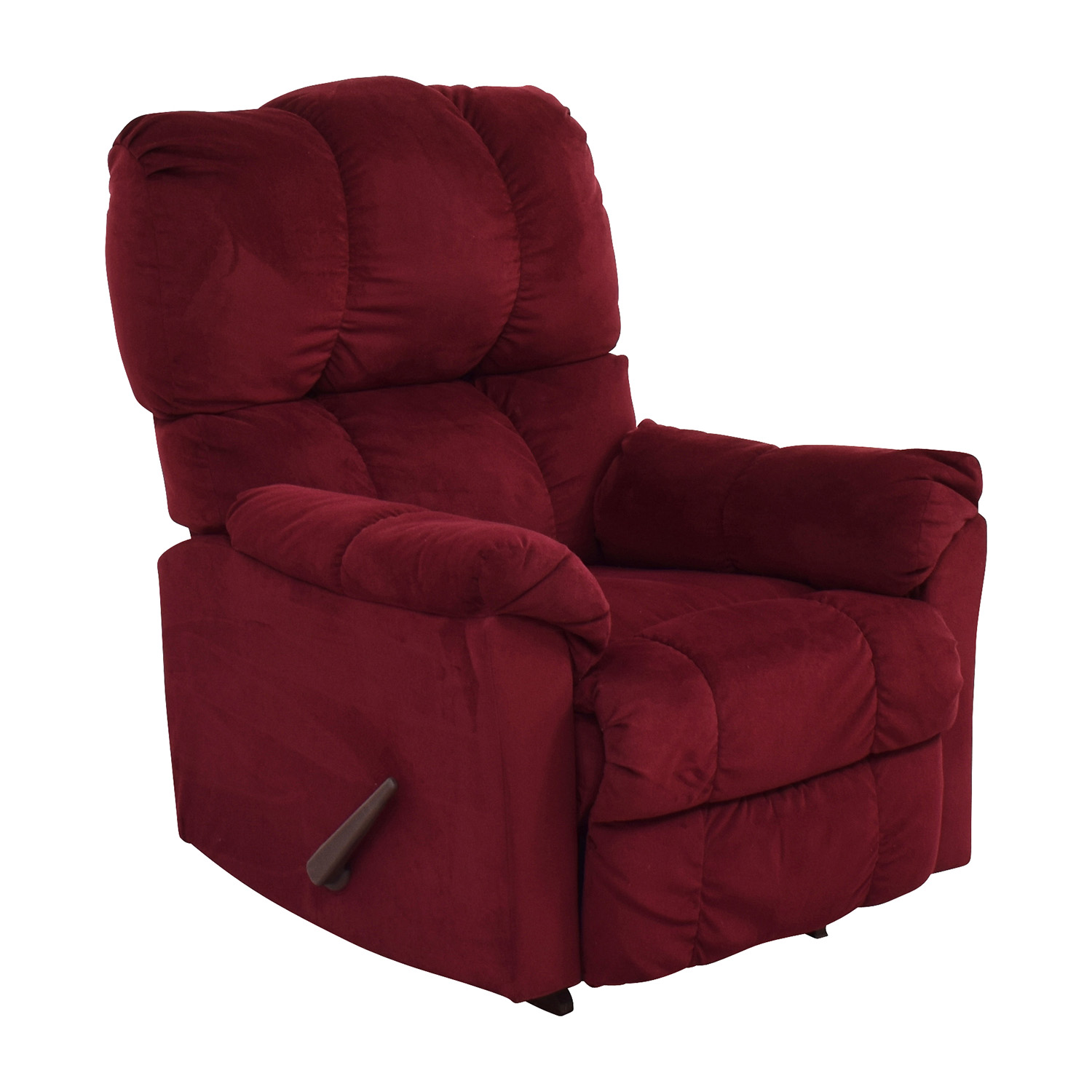 Macys Macys Red Recliner Arm Chair red