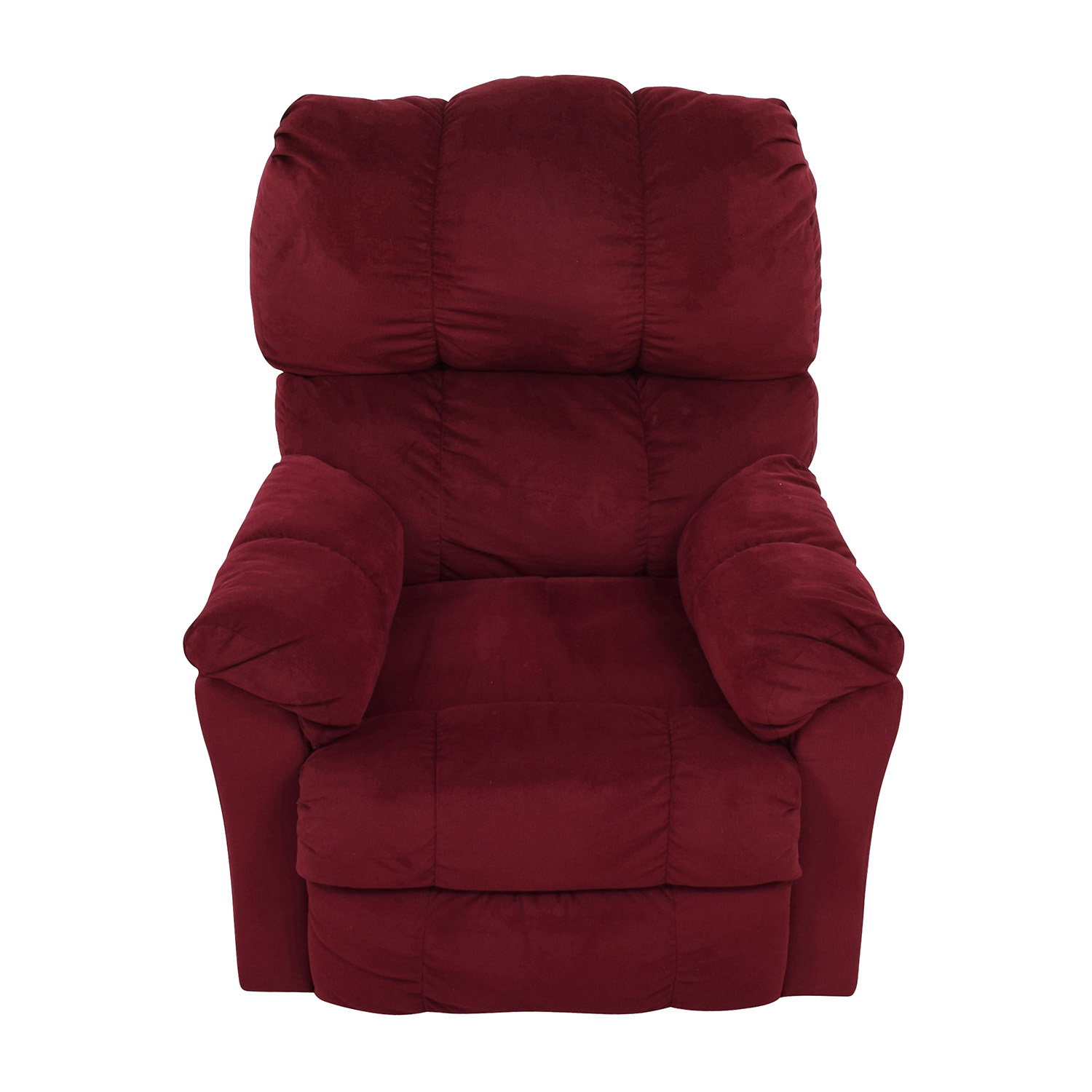 Macys Macys Red Recliner Arm Chair nyc