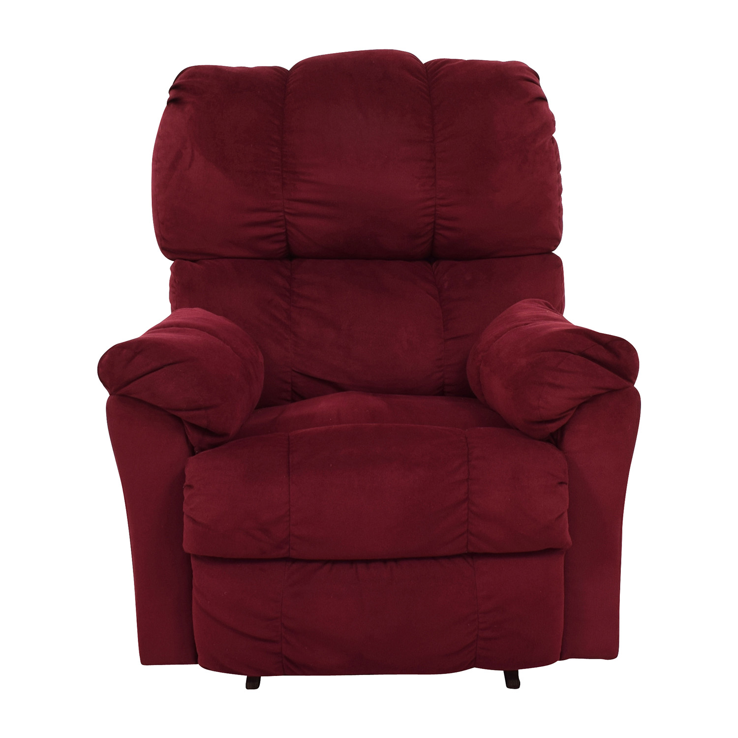 Macys Macys Red Recliner Arm Chair coupon