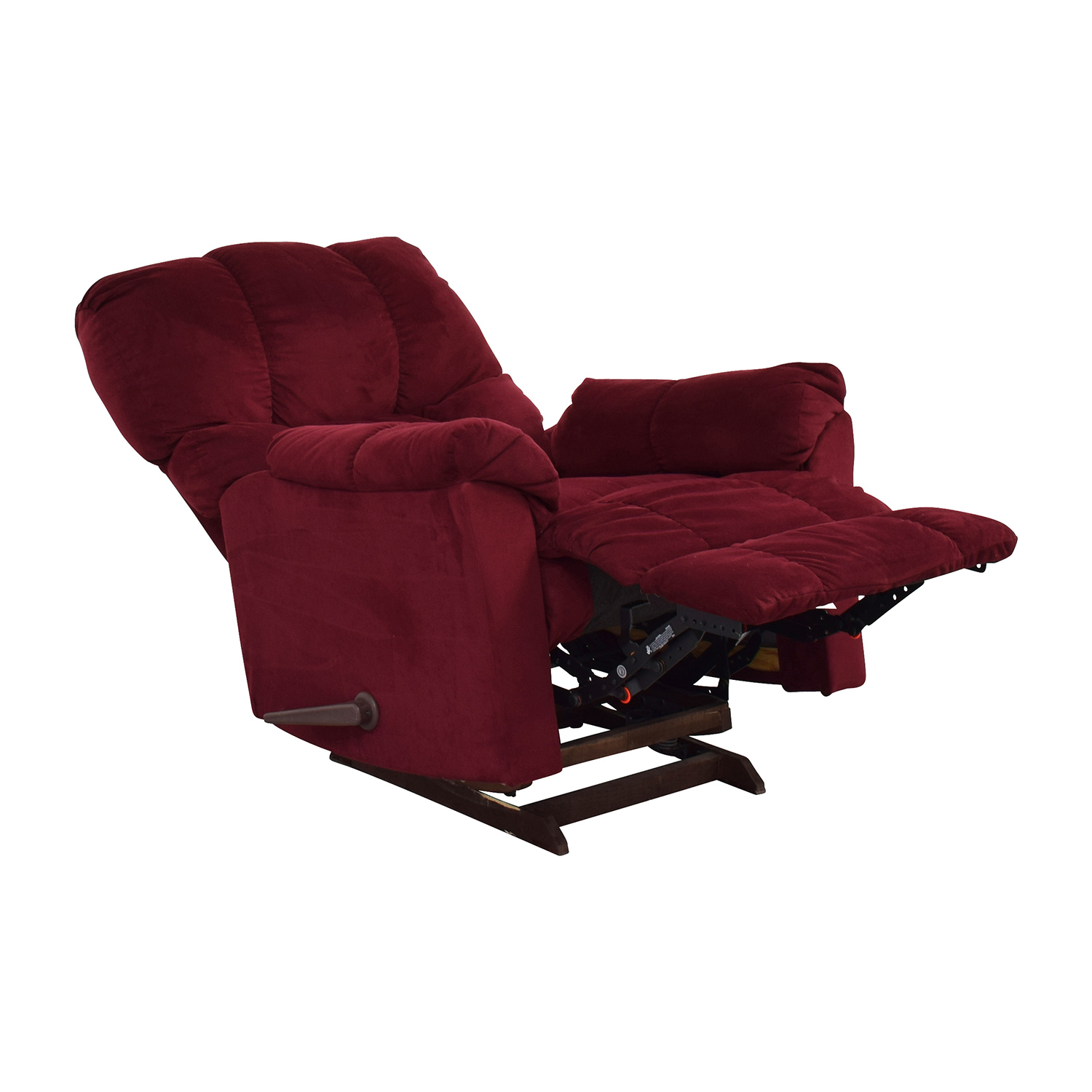 Macys Macys Red Recliner Arm Chair discount