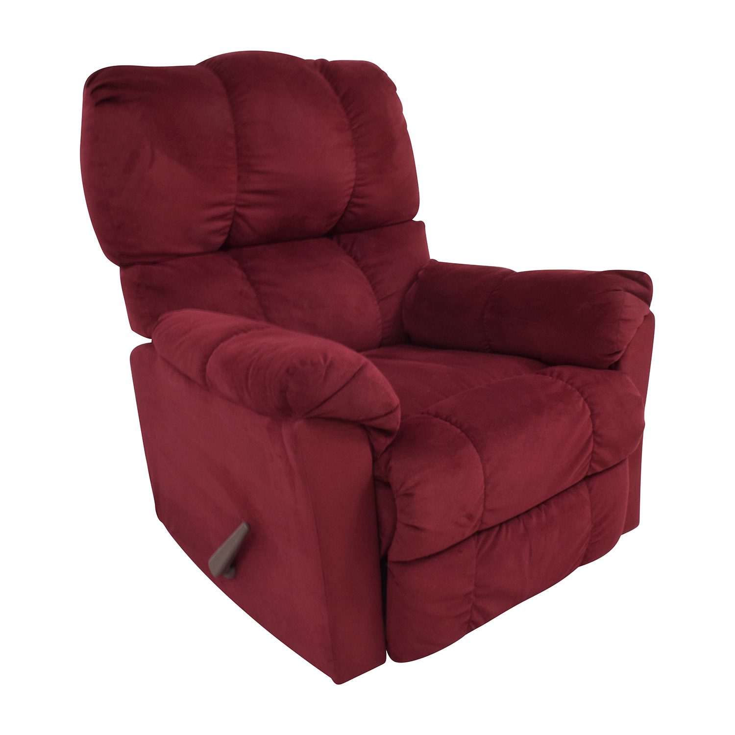 Macys Macys Red Recliner Arm Chair nj