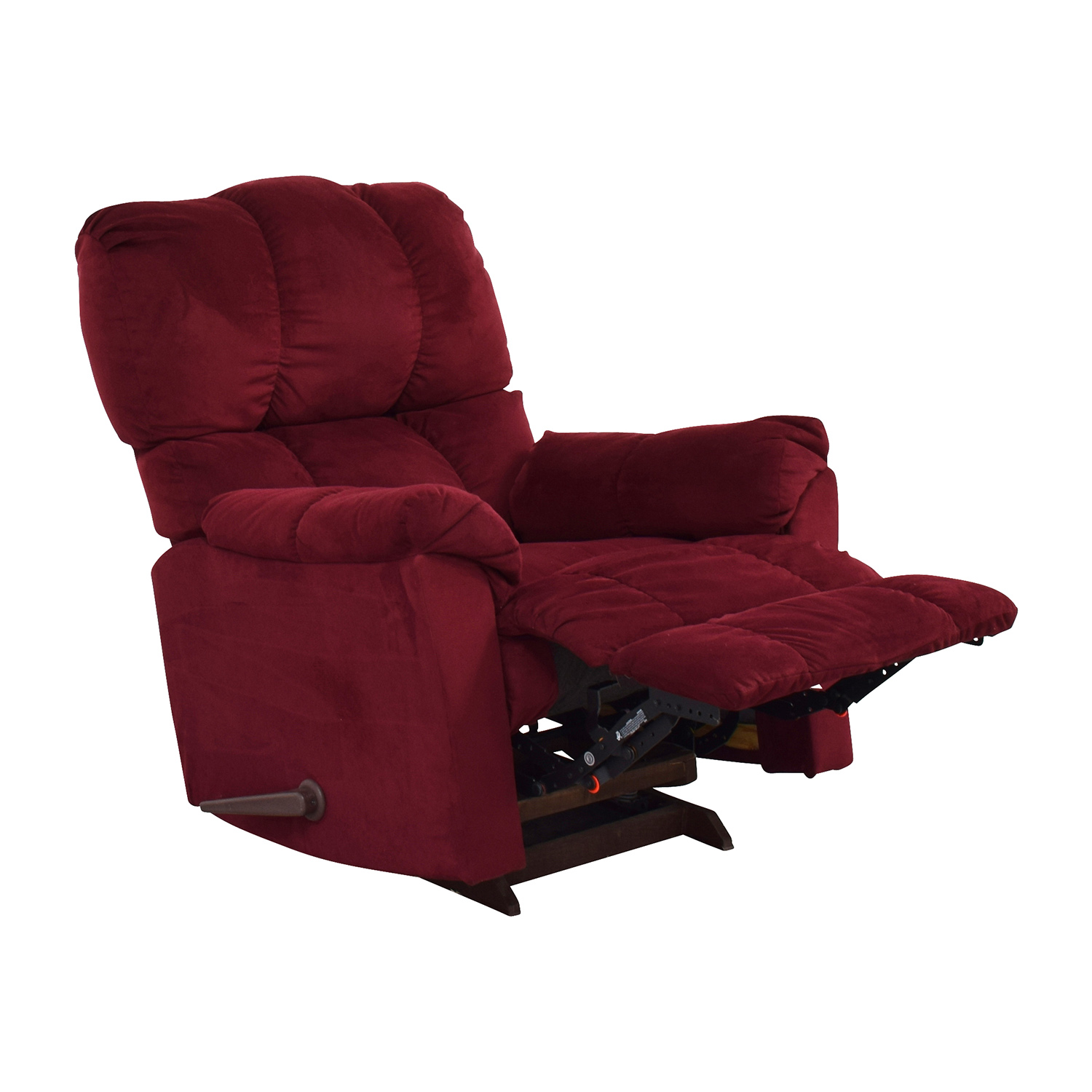 81% OFF Macys Macy s Red Recliner Arm Chair Chairs