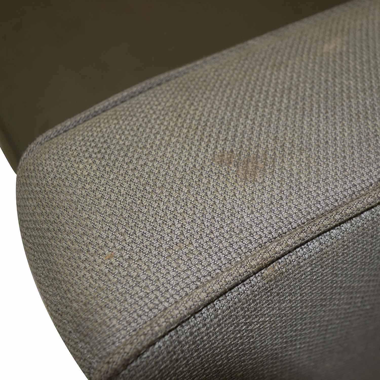 West Elm West Elm Henry Grey Fabric Sofa discount