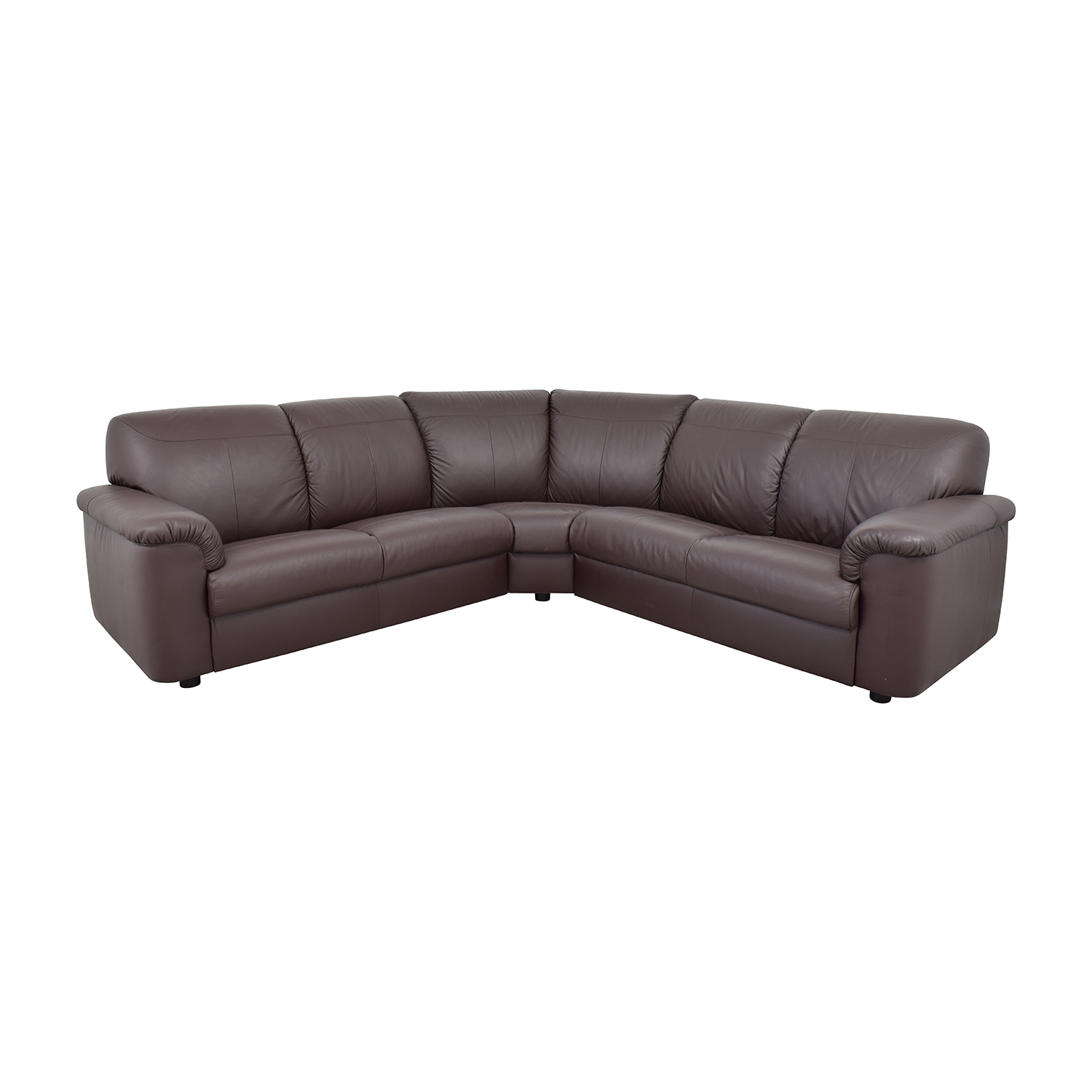 ikea plush brown leather sectional sale. Interior Design Ideas. Home Design Ideas