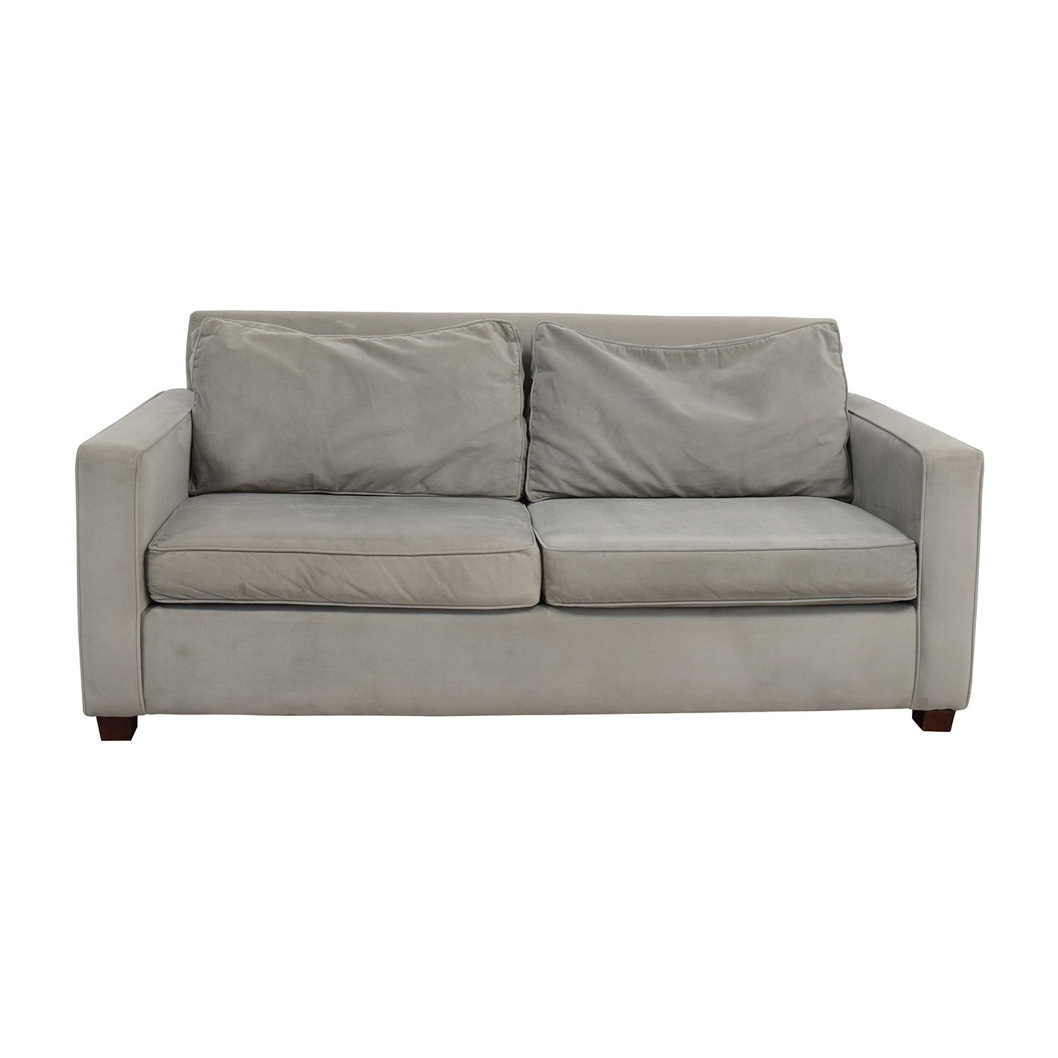 West Elm West Elm Henry Two-Seat Sofa dimensions