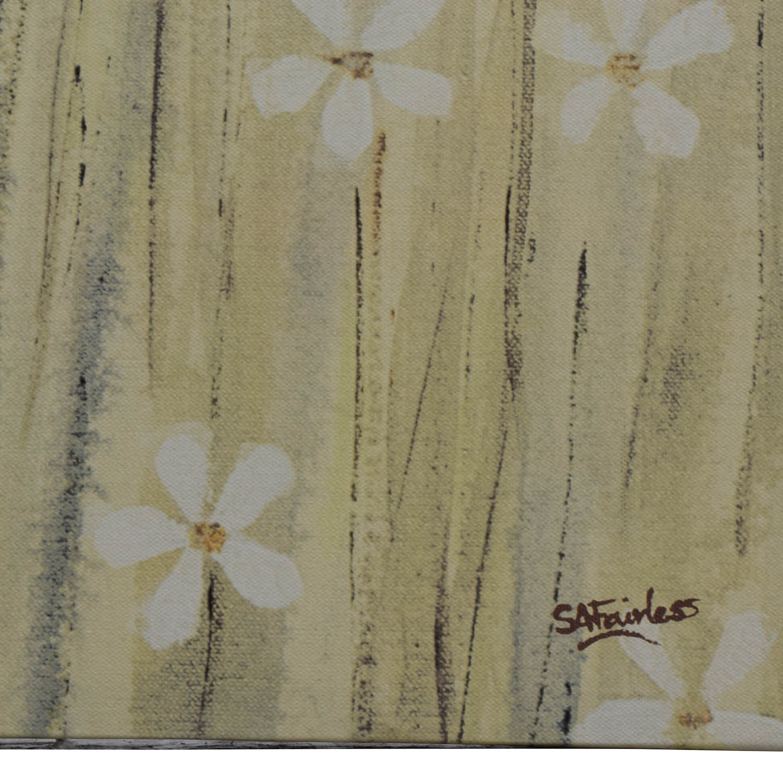 shop Yellow Daisy Canvas Painting Wall Art