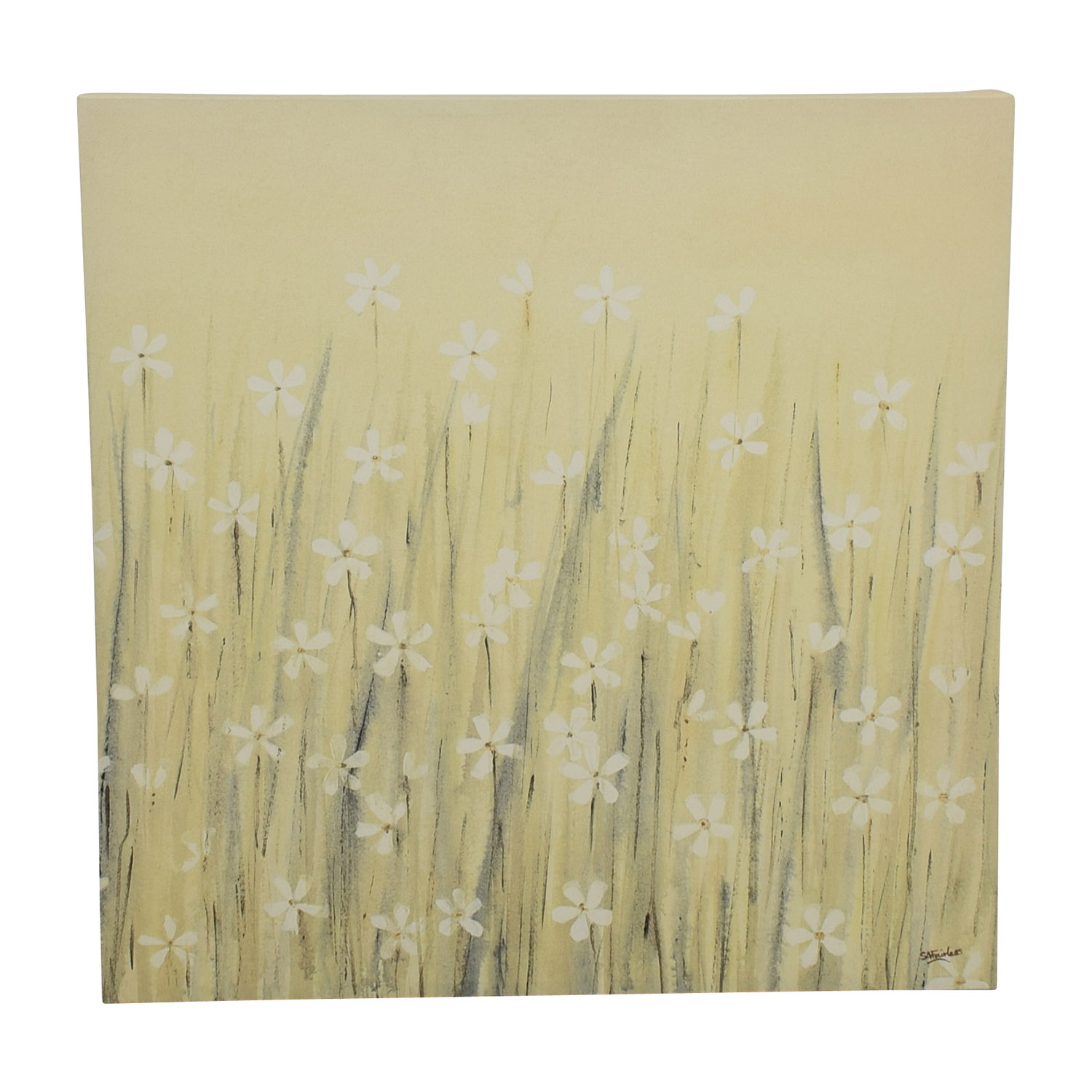 shop Yellow Daisy Canvas Painting online