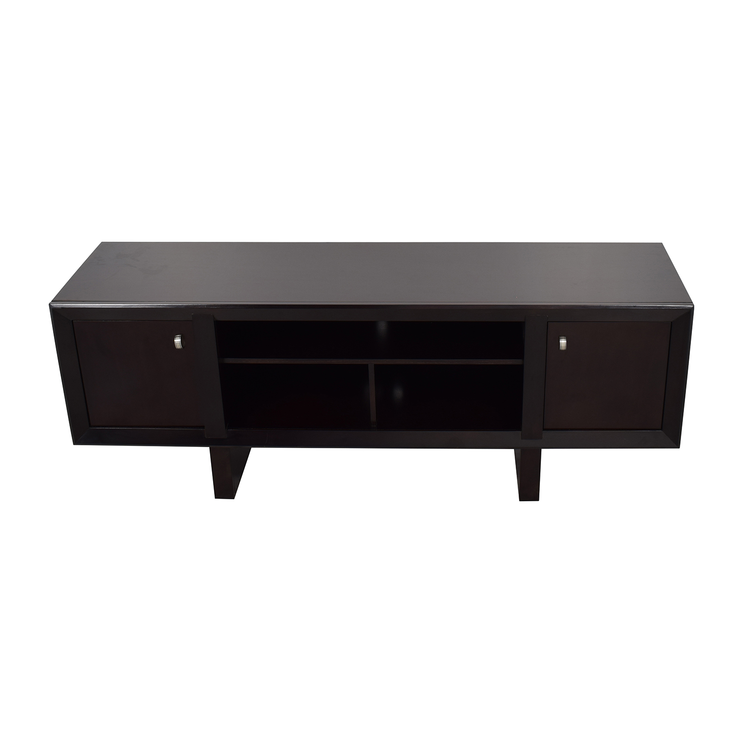 Raymour and Flanigan Raymour & Flanigan Park Avenue Black TV Stand coupon