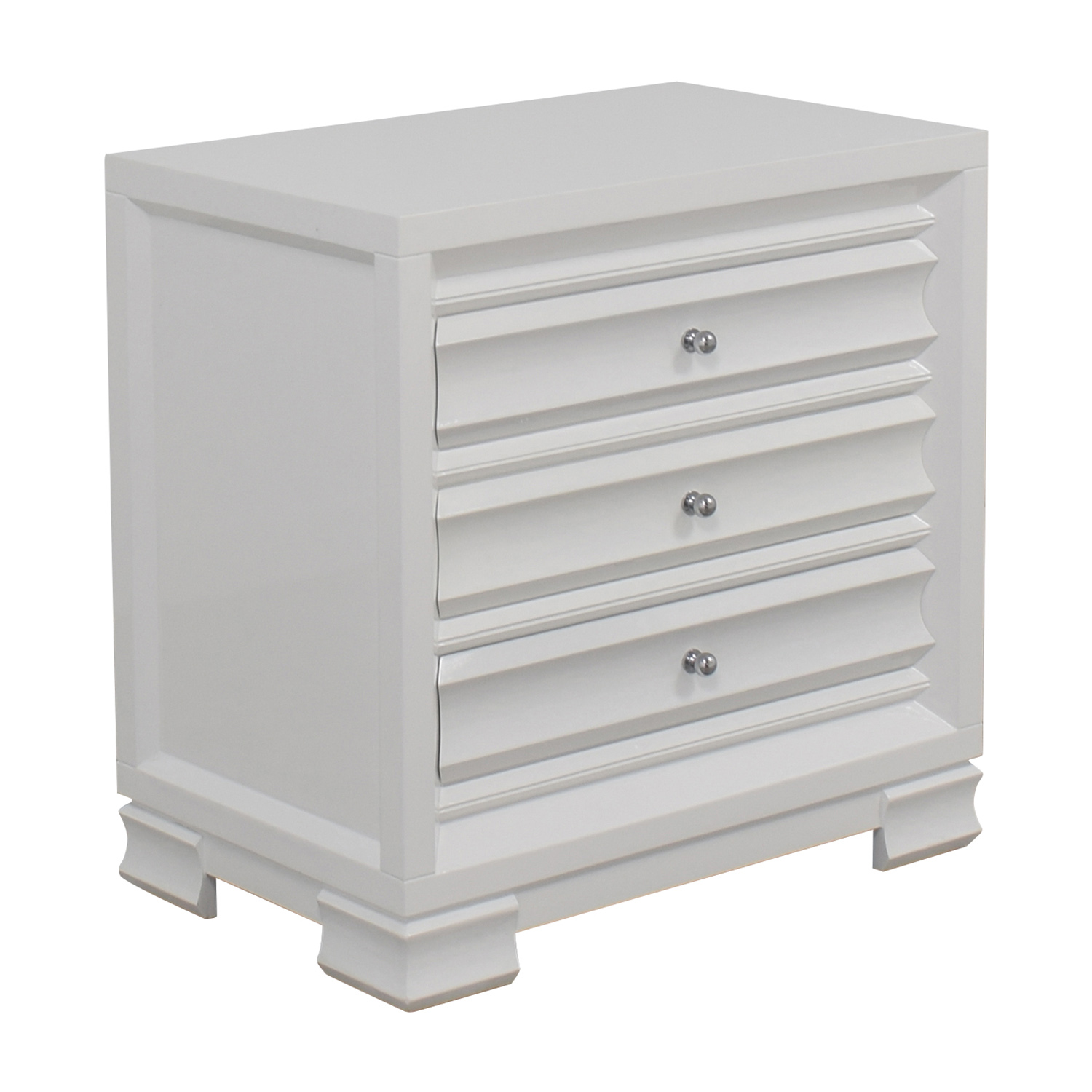 shop Bangalow 5 Paramount Three-Drawer Side Table Bungalow 5 Tables