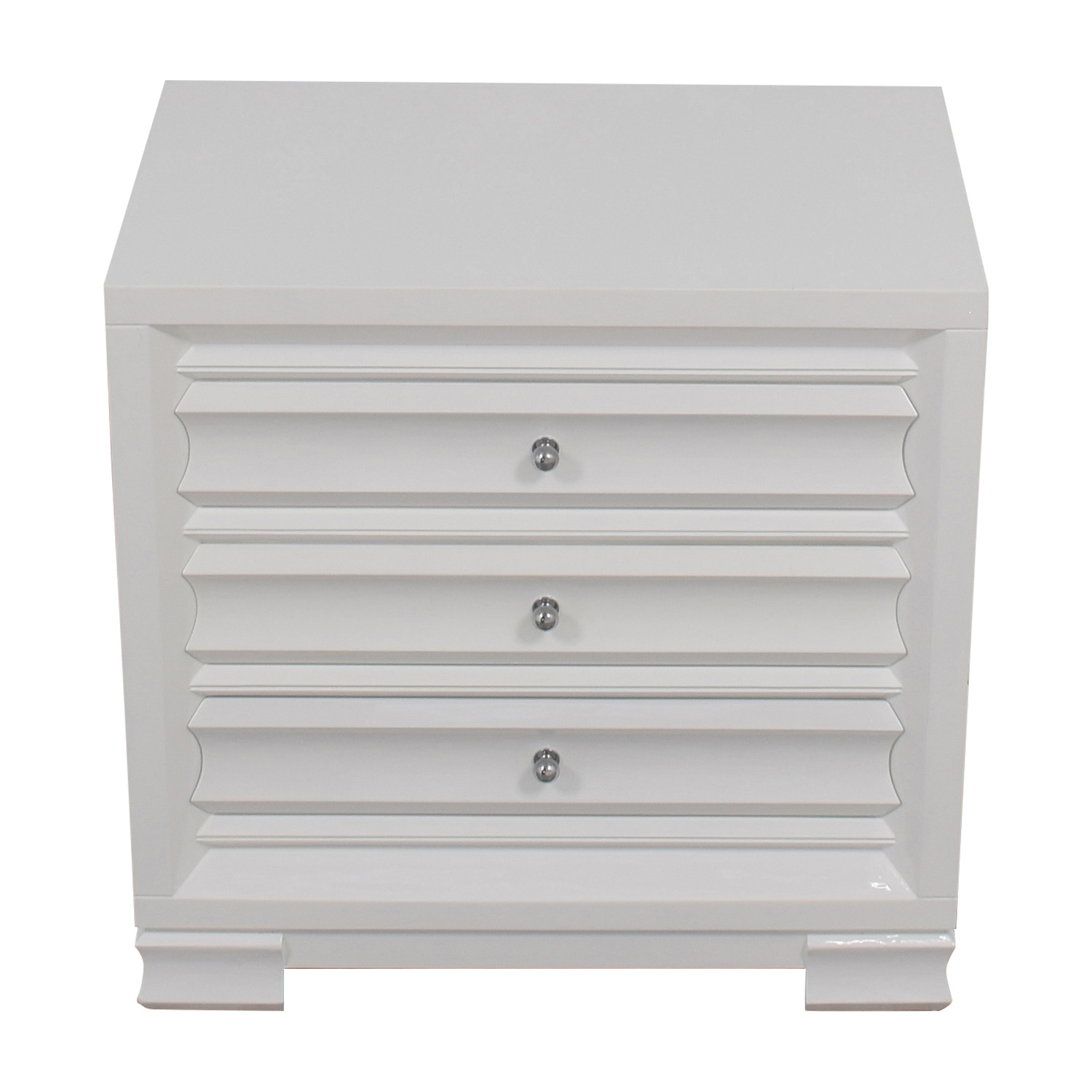 Bangalow 5 Paramount Three-Drawer Side Table sale