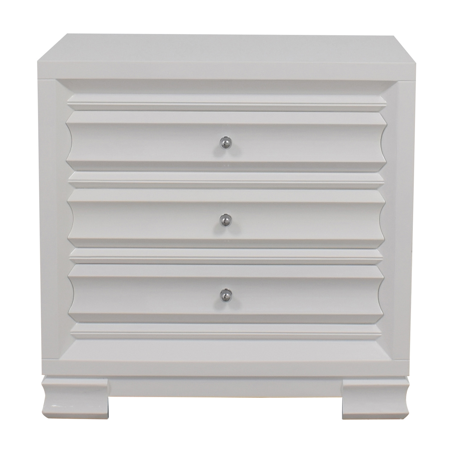 shop Bangalow 5 Paramount Three-Drawer Side Table Bungalow 5