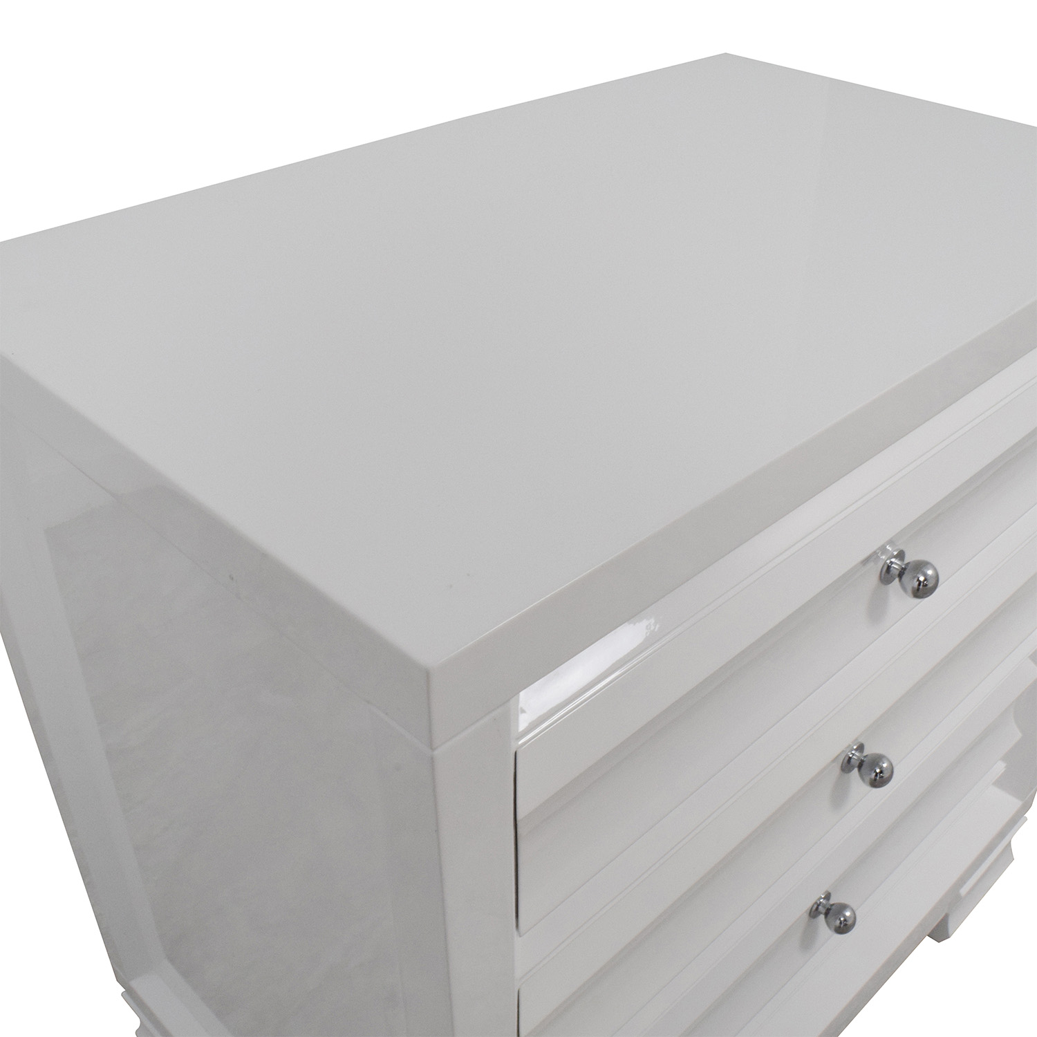 Bungalow 5 Bangalow 5 Paramount Three-Drawer Side Table