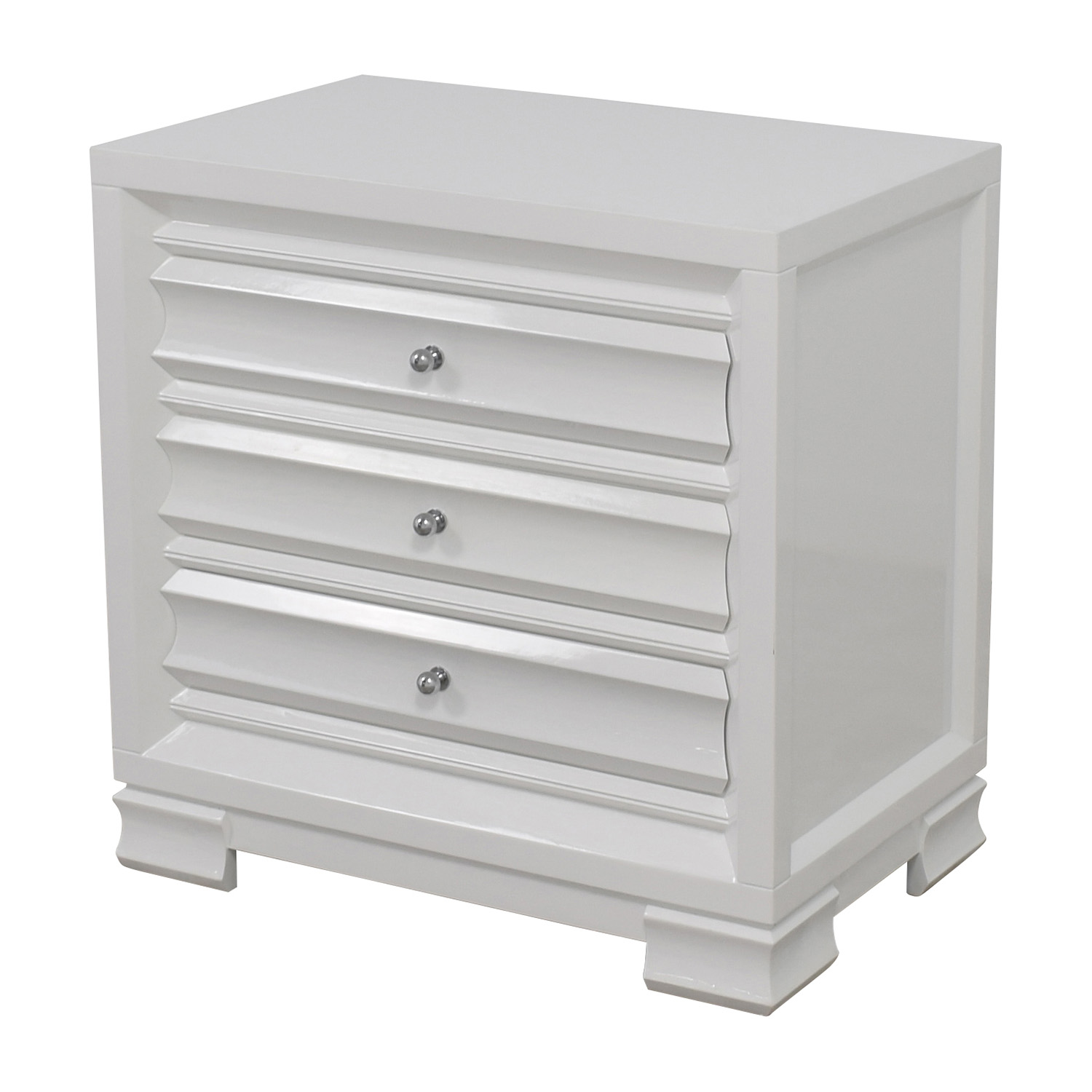 buy Bangalow 5 Paramount Three-Drawer Side Table Bungalow 5