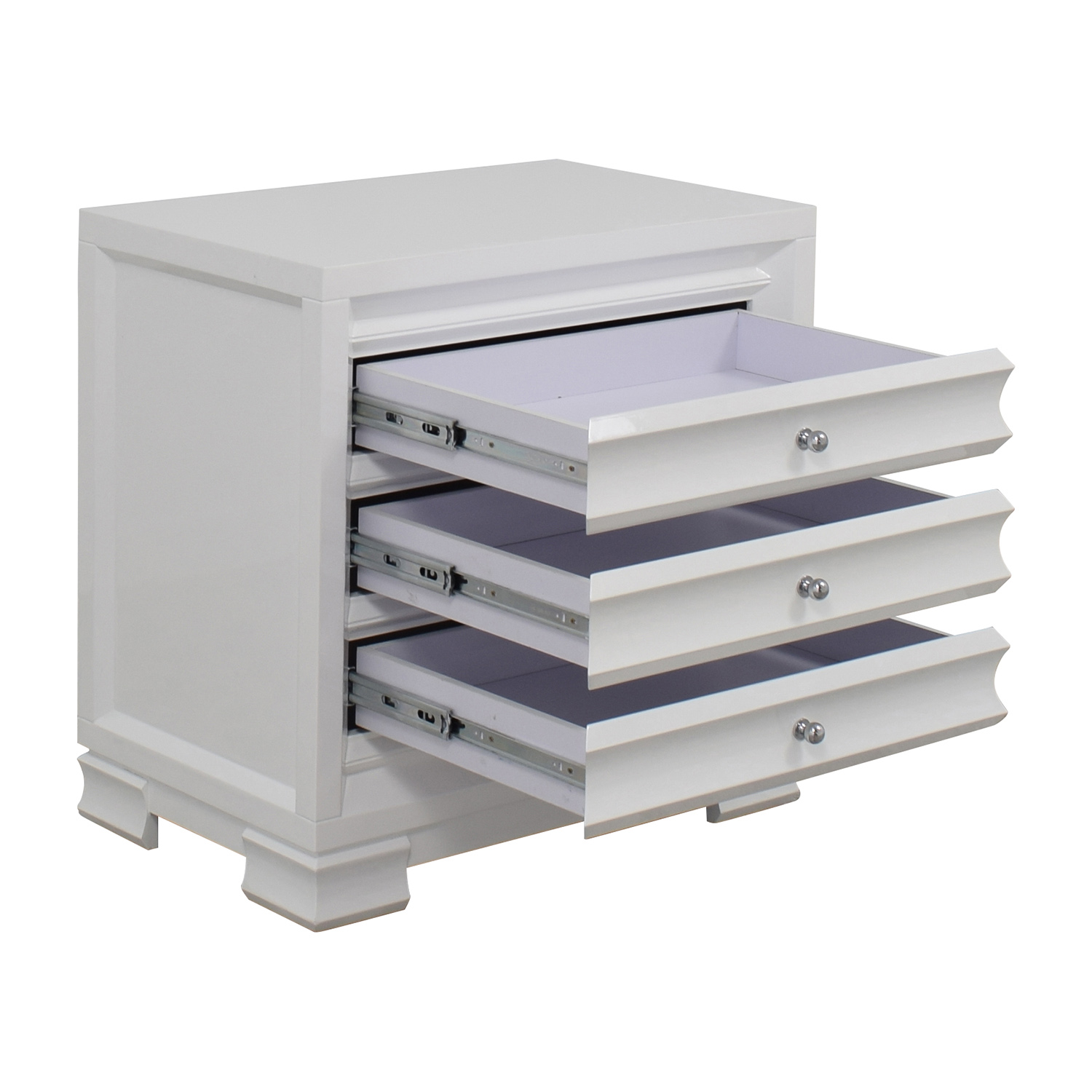 shop Bungalow 5 Bangalow 5 Paramount Three-Drawer Side Table online