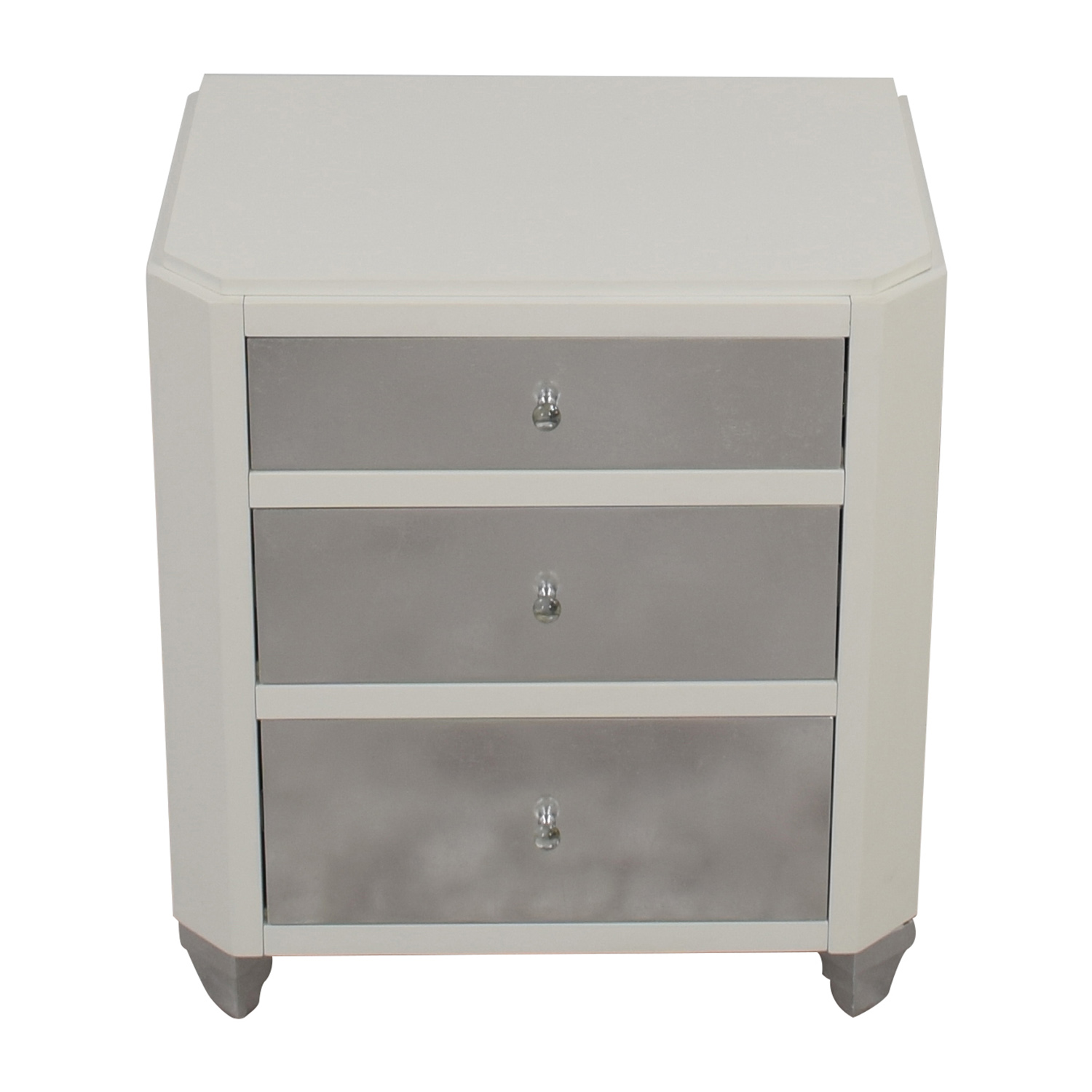 Bungalow 5 Bungalow 5 Mame Three-Drawer Side Table used