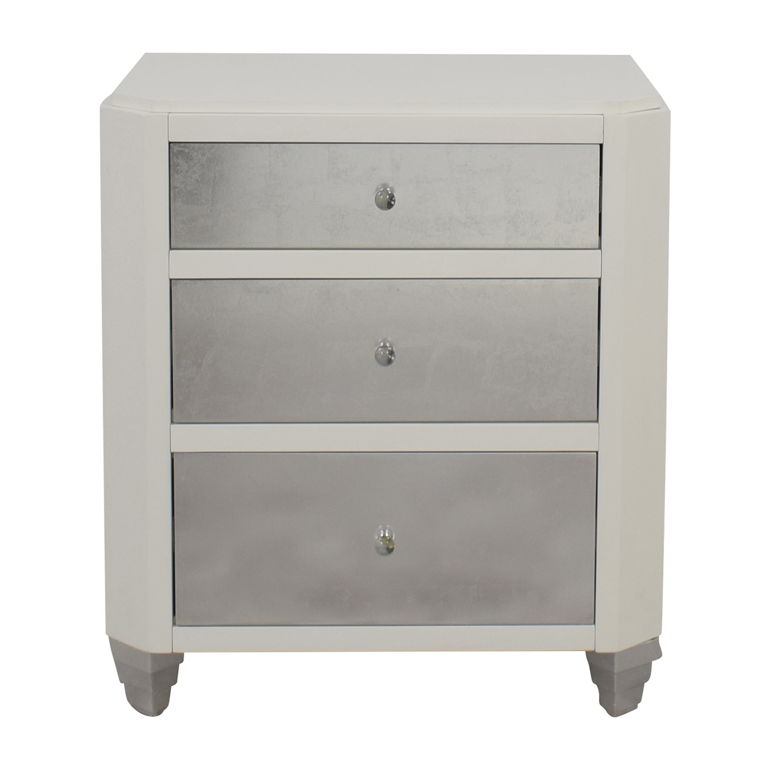 buy Bungalow 5 Mame Three-Drawer Side Table Bungalow 5 Tables