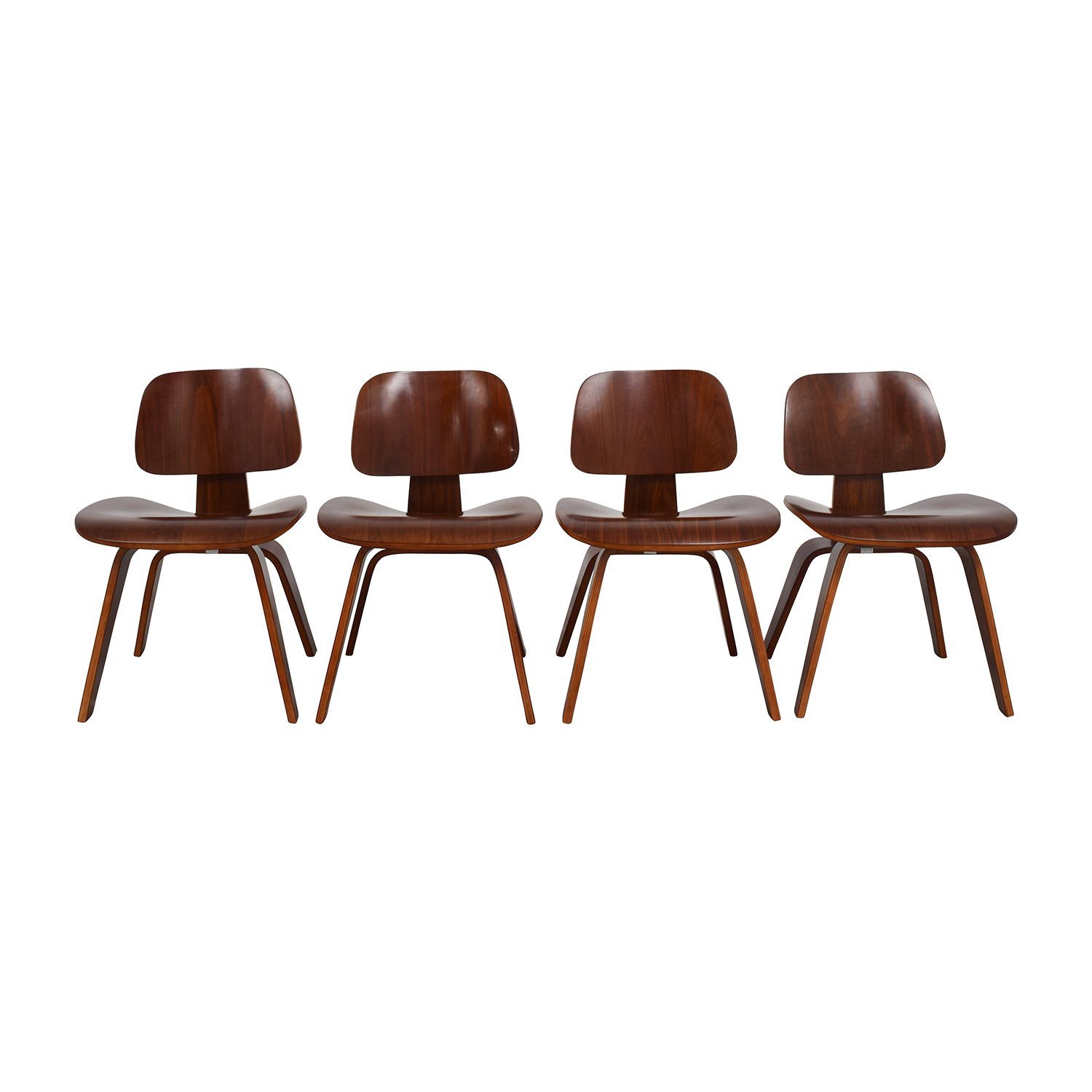 shop Mid-Century Walnut Veneer Chairs Chairs