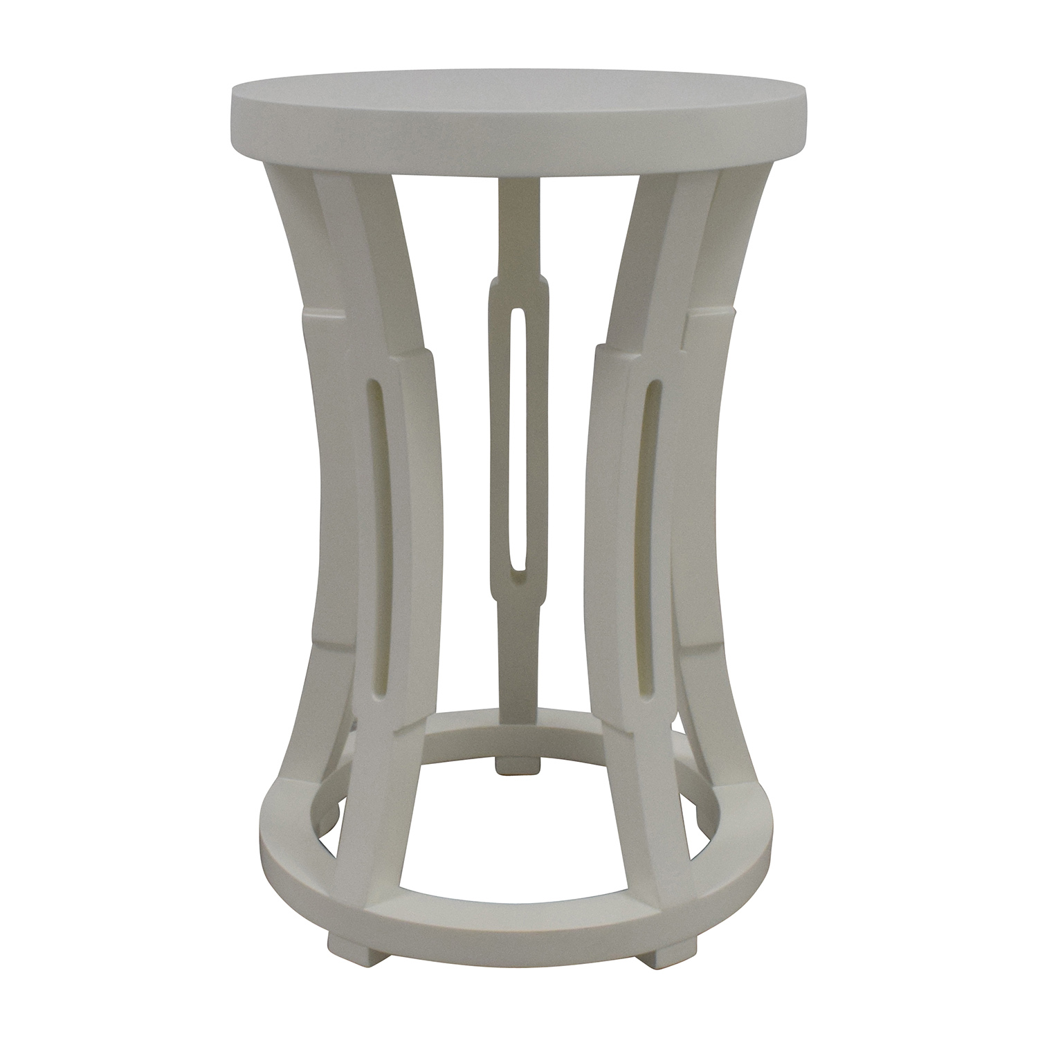 Bungalow 5 Bungalow 5 Hour Glass Stool Side Table or Stool second hand