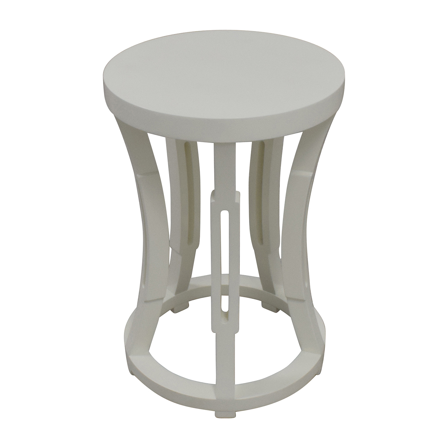 Bungalow 5 Bungalow 5 Hour Glass Stool Side Table or Stool dimensions