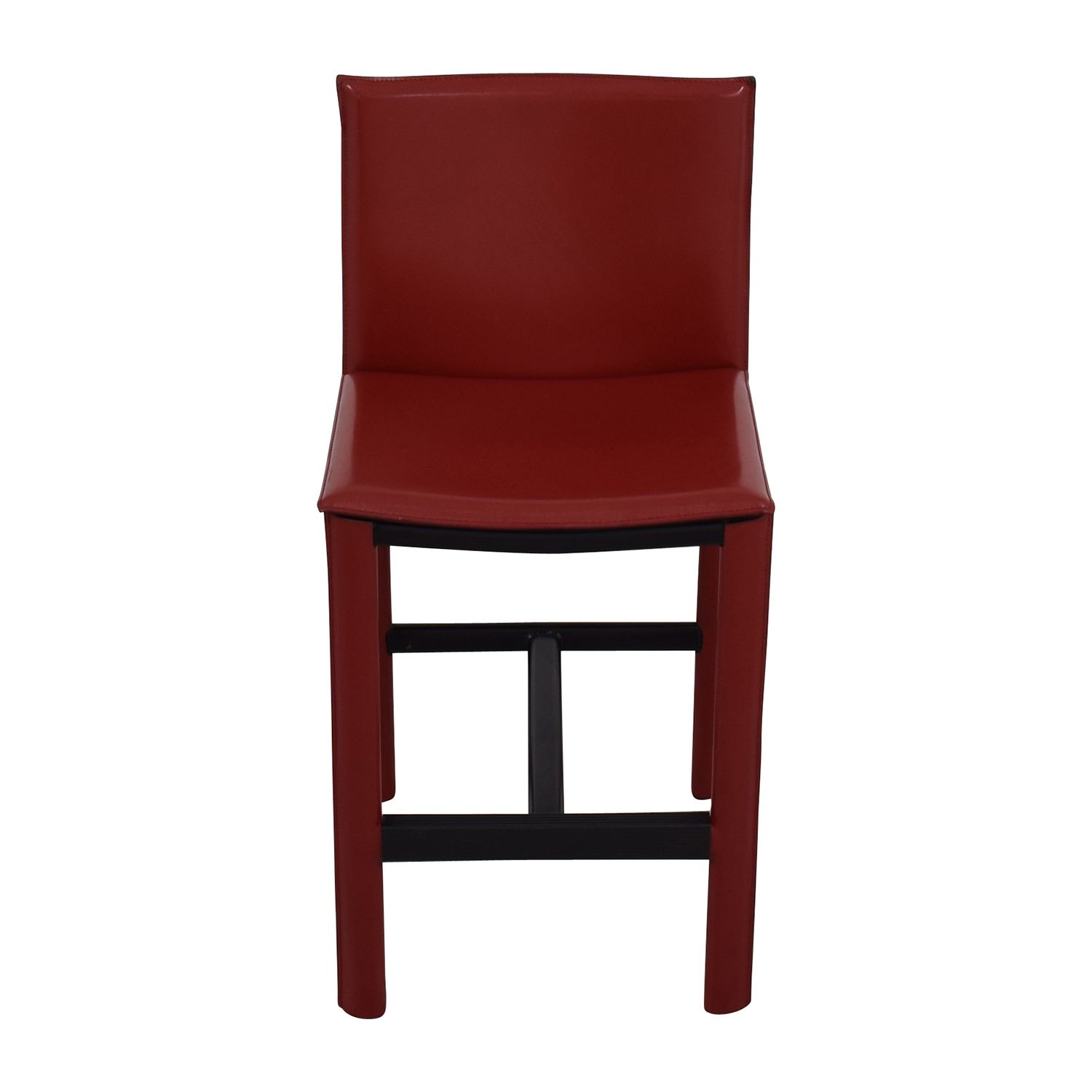 Room & Board Room & Board Sava Bar Stool in Red Leather Stools