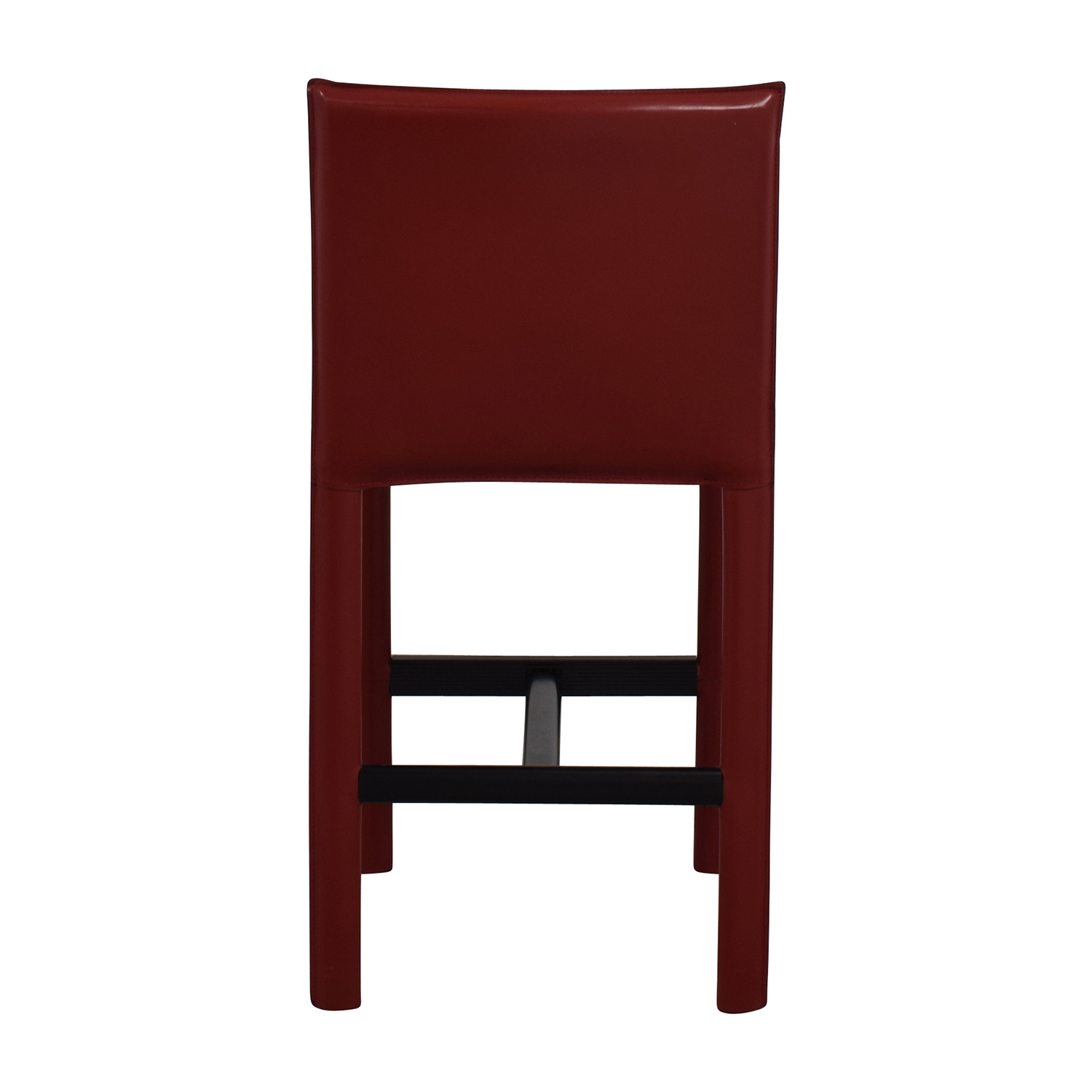 buy Room & Board Room & Board Sava Bar Stool in Red Leather online