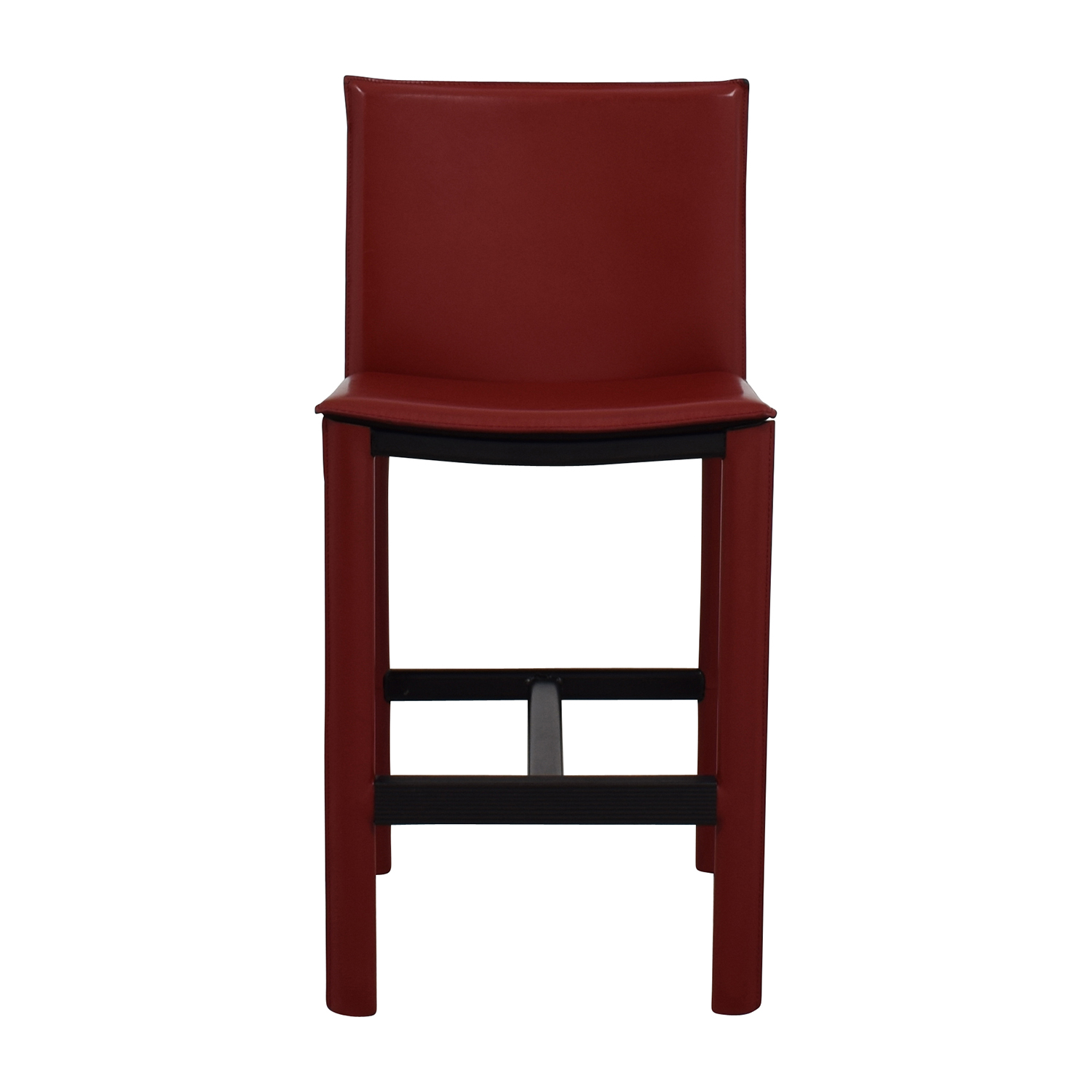 Room & Board Room & Board Sava Bar Stool in Red Leather used