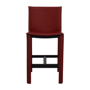 Room & Board Room & Board Sava Bar Stool in Red Leather
