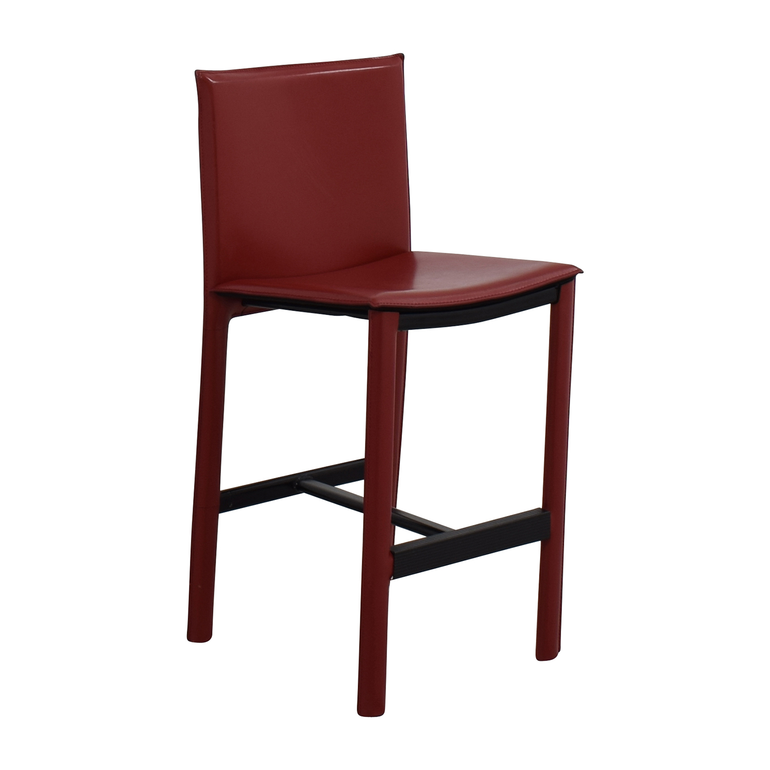 Marvelous 90 Off Room Board Room Board Sava Bar Stool In Red Leather Chairs Gmtry Best Dining Table And Chair Ideas Images Gmtryco