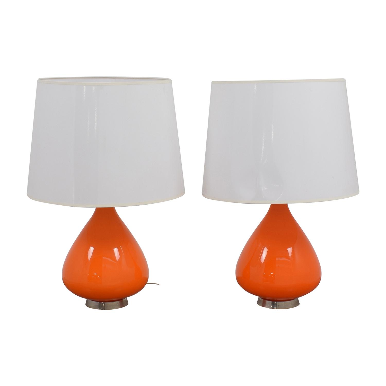 Jonathan Adler Lamp Orange Lamps sale