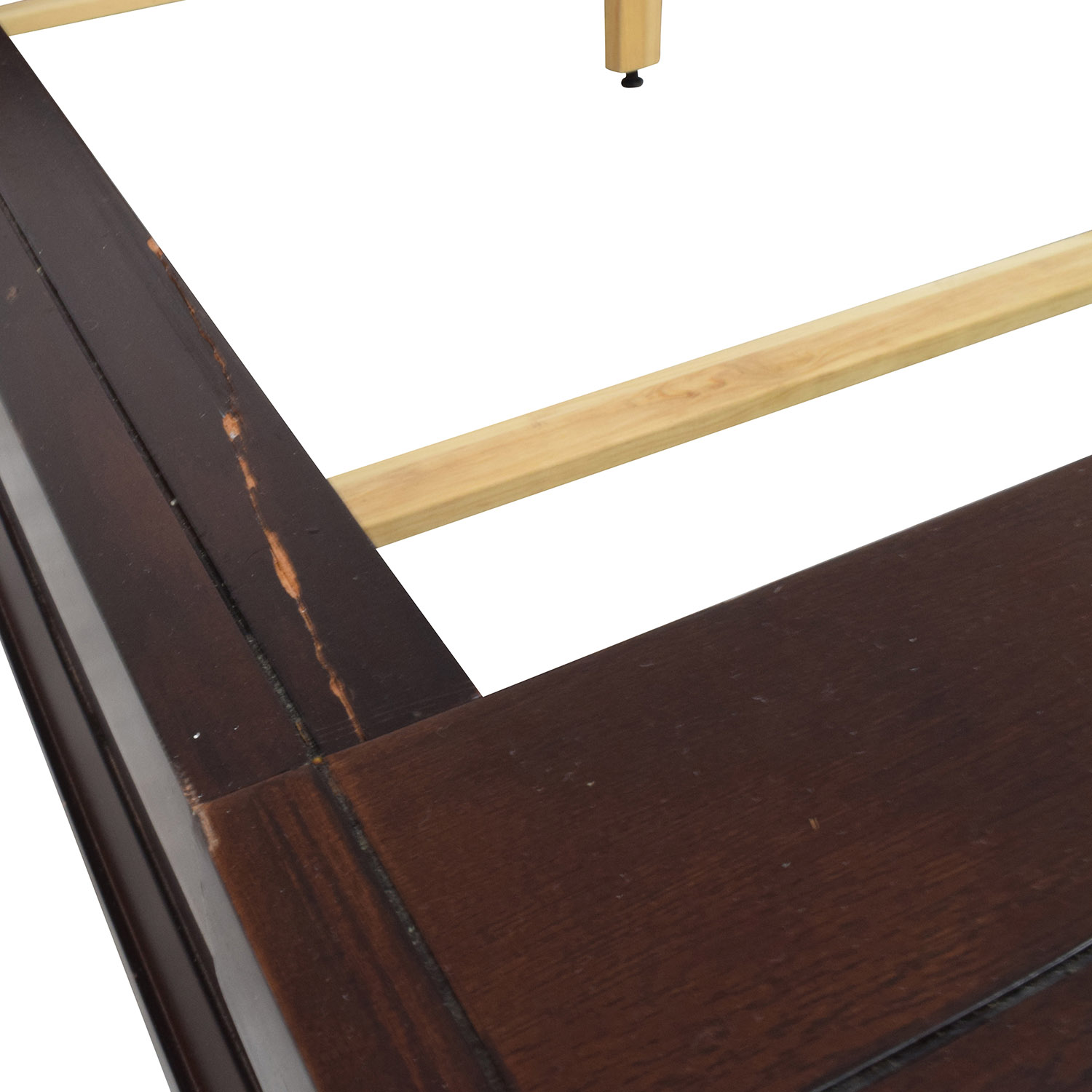 Raymour and Flanigan Dark Brown Queen Bed Frame / Bed Frames