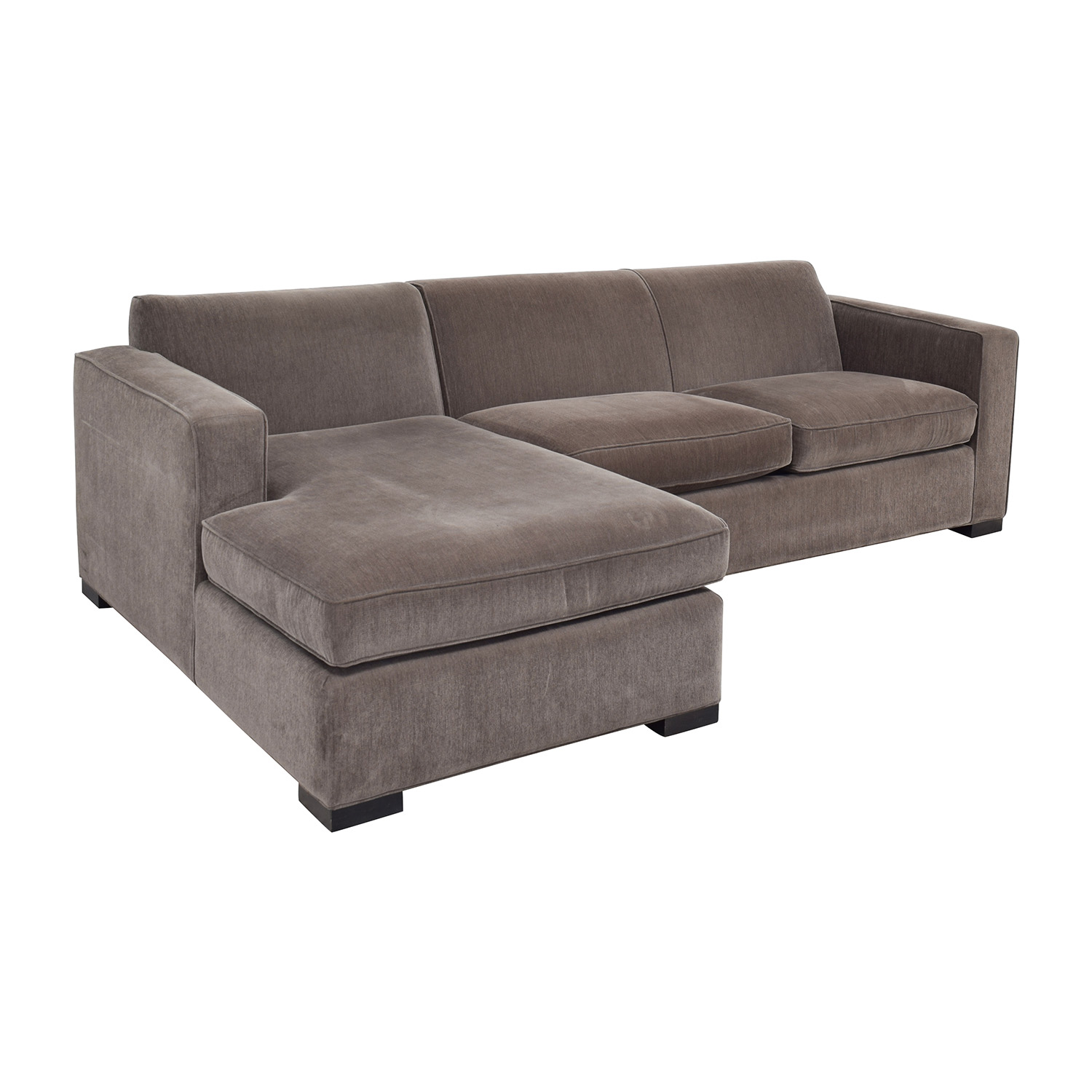 58% OFF Room & Board Room & Board Ian Grey Sectional Sofas