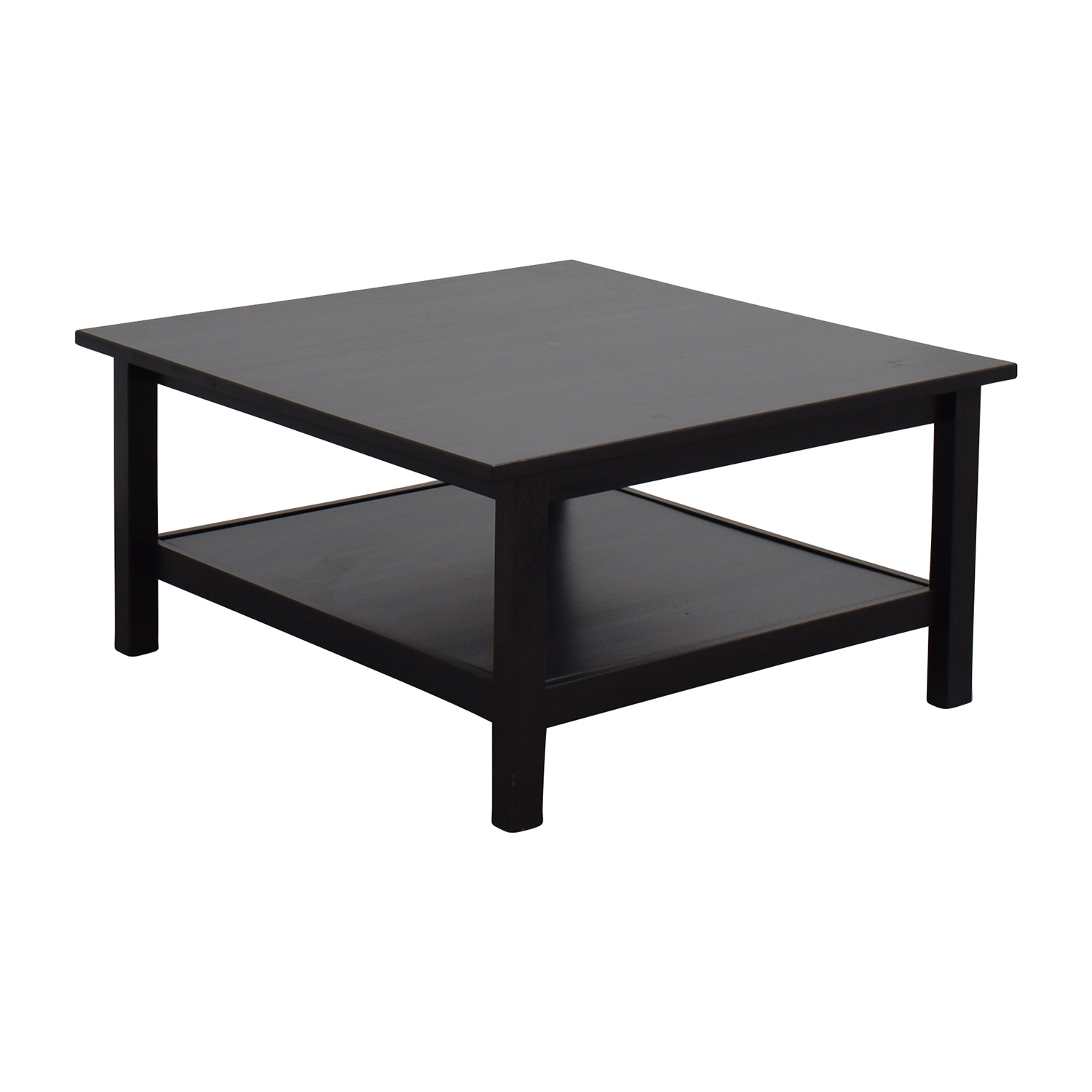 66 Off Ikea Ikea Brown Square Coffee Table Tables